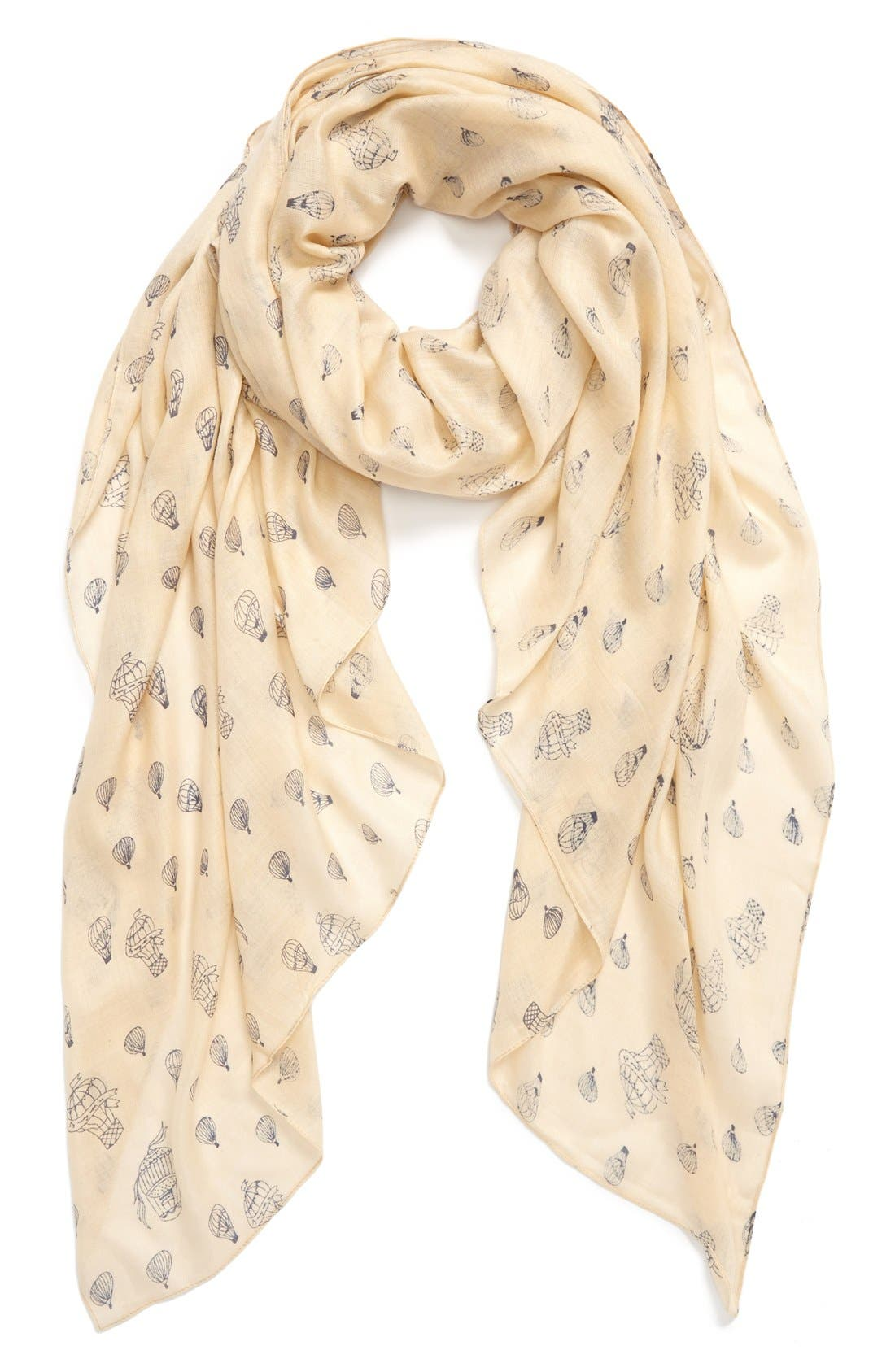 Alternate Image 1 Selected - Sole Society Balloon Print Scarf