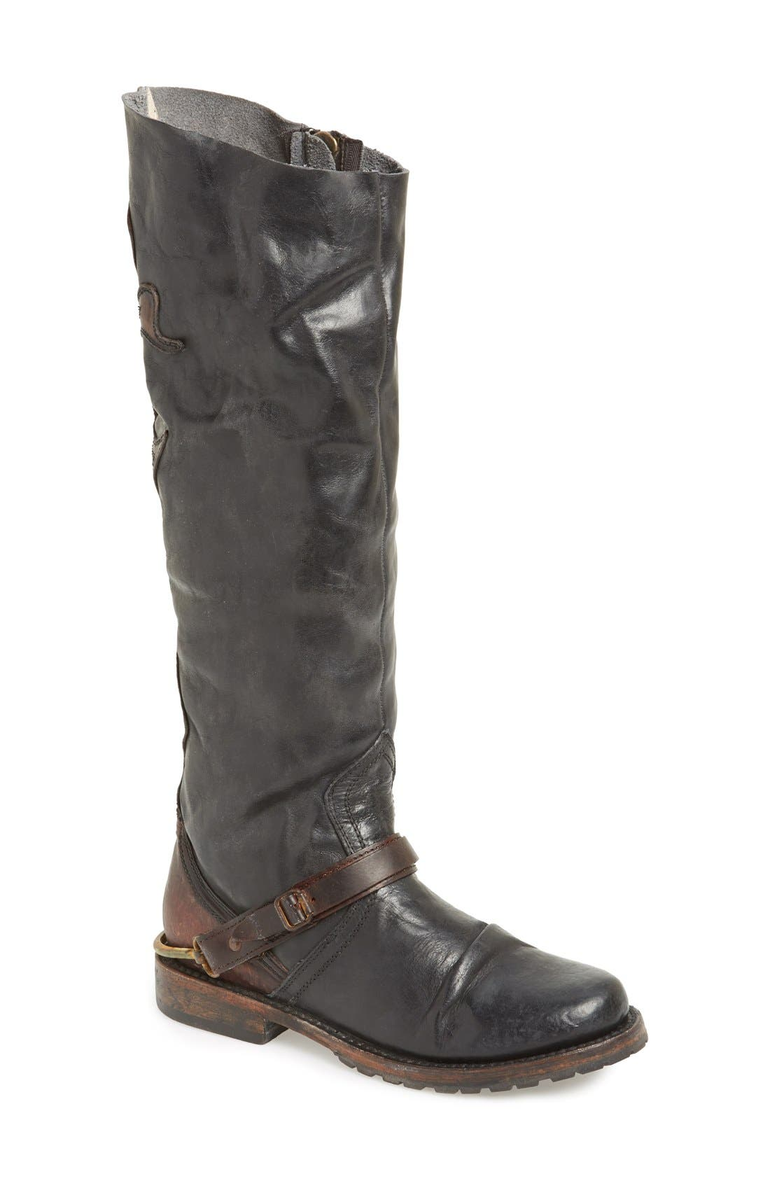 Alternate Image 1 Selected - Freebird by Steven 'Lyon' Leather Riding Boot (Women)