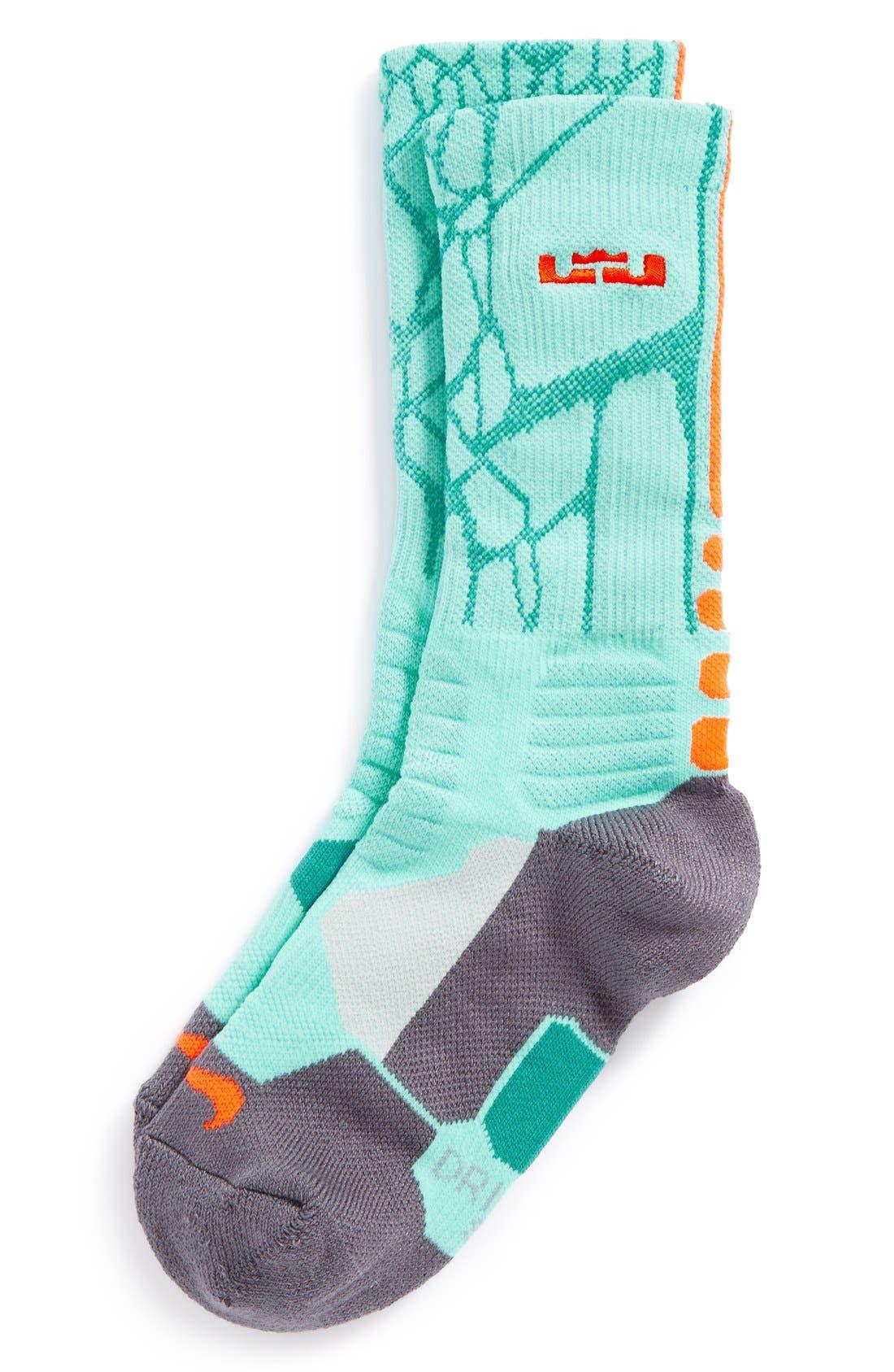 Lebron hyper elite socks