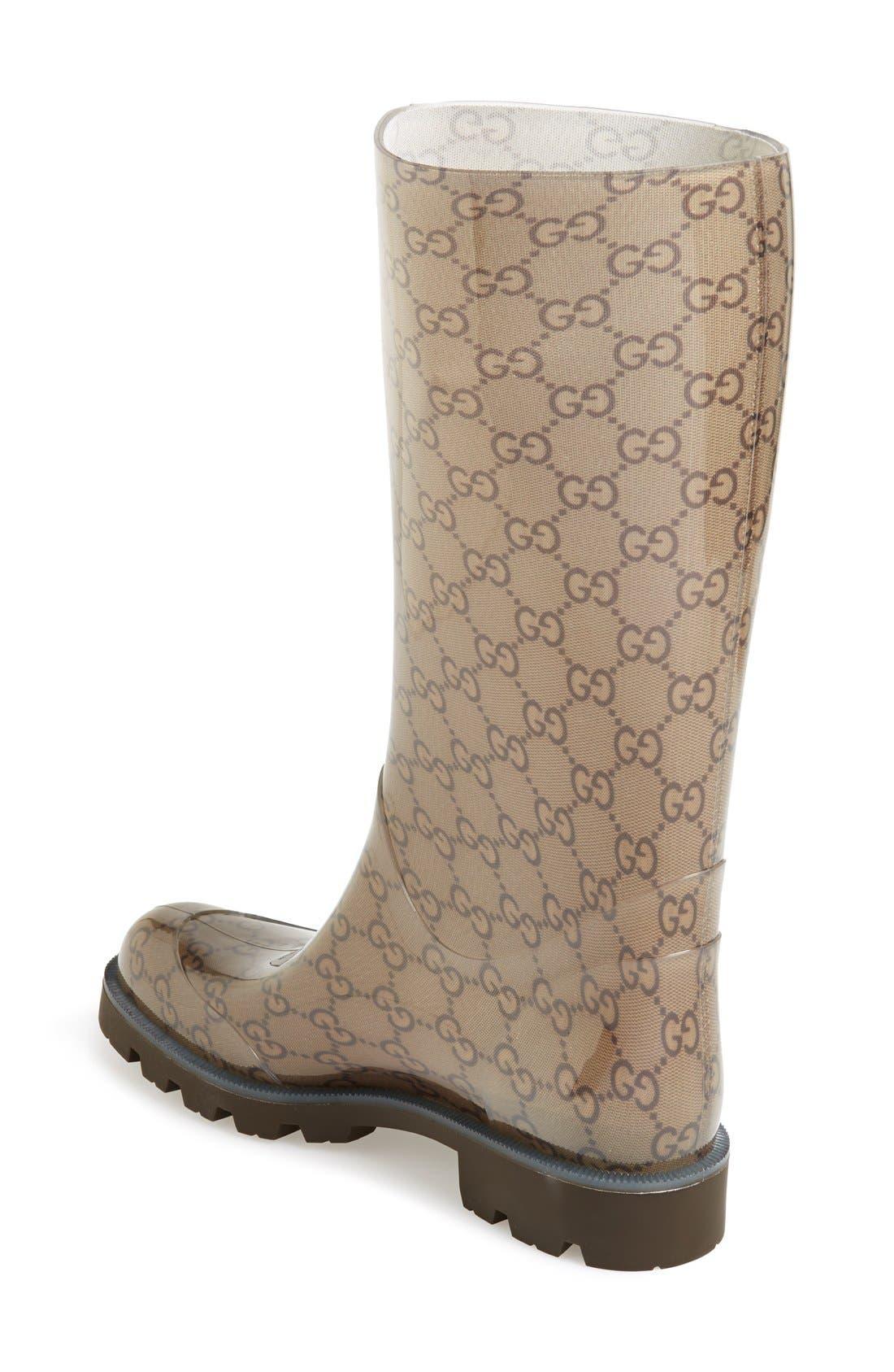 Alternate Image 2  - Gucci 'Edimburg GG' Rain Boot