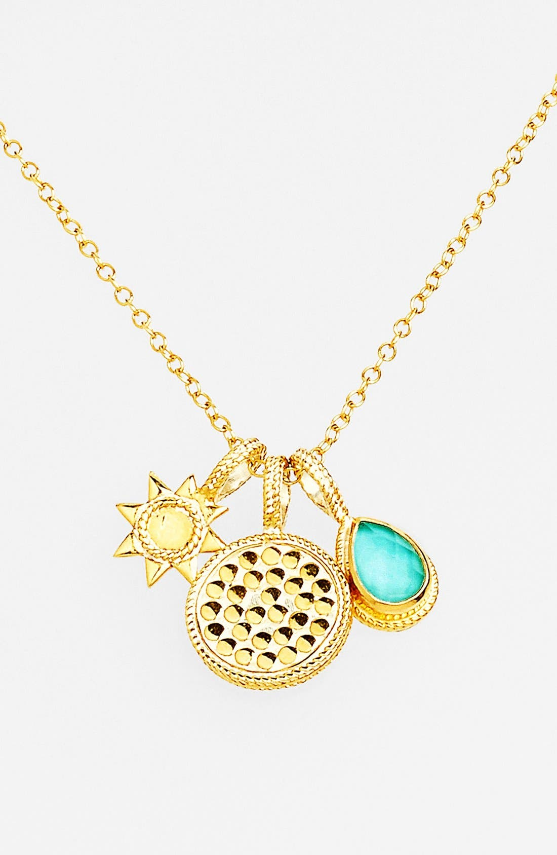 Alternate Image 1 Selected - Anna Beck 'Gili' Boxed Cluster Pendant Necklace