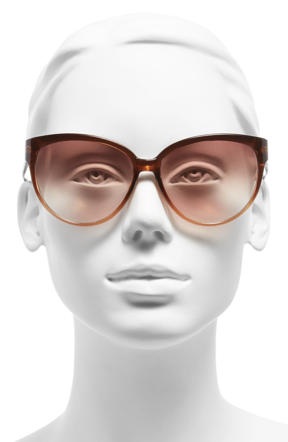 Alternate Image 2  - Outlook Eyewear 60mm Cat Eye Sunglasses