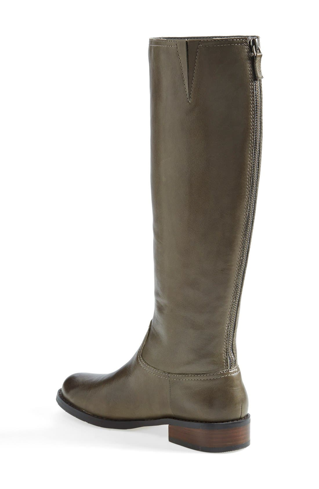 Alternate Image 2  - Halogen® 'Ginger' Knee High Boot (Wide Calf) (Women)
