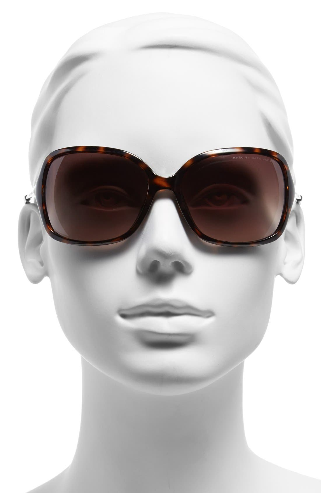 Alternate Image 2  - MARC BY MARC JACOBS 59mm Square Sunglasses