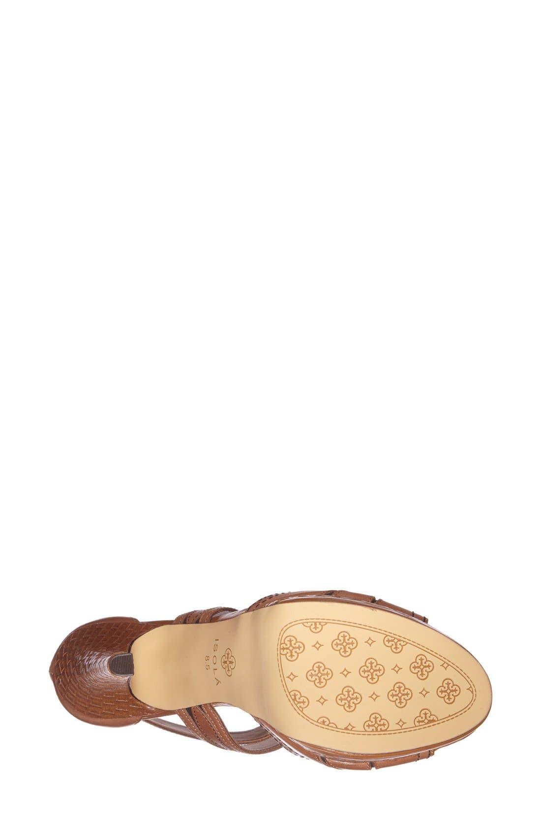 Alternate Image 4  - Isolá 'Dallon' Platform Sandal (Women)