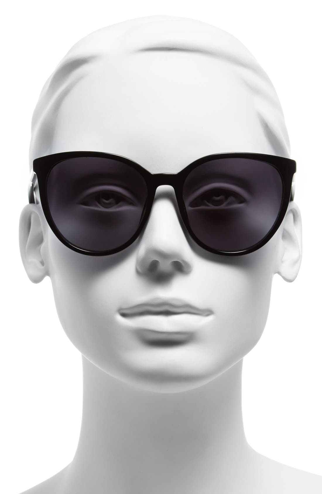Alternate Image 2  - Oxydo 56mm Retro Sunglasses