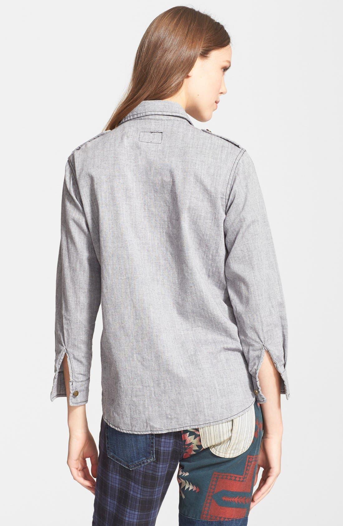 Alternate Image 2  - Current/Elliott 'The Perfect Shirt' Cotton Shirt