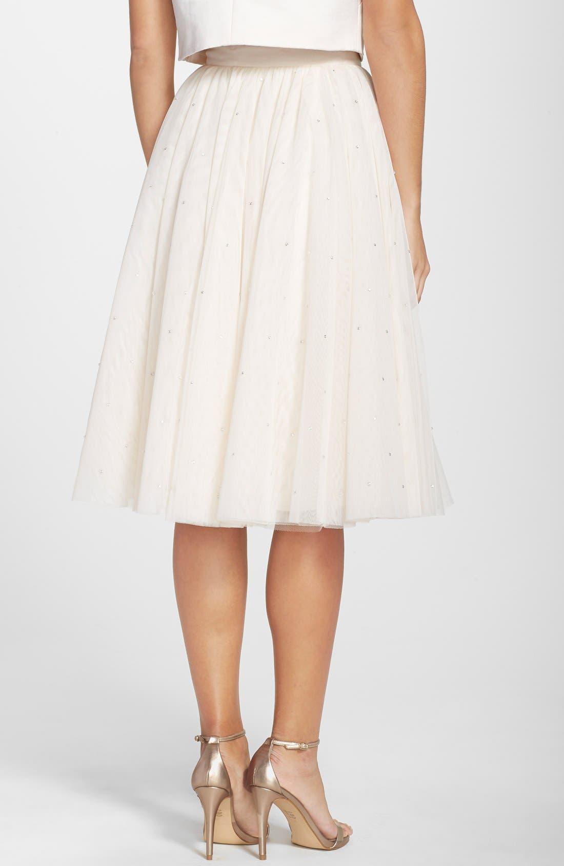 Alternate Image 2  - Ted Baker London 'Odella' Embellished Tulle Skirt