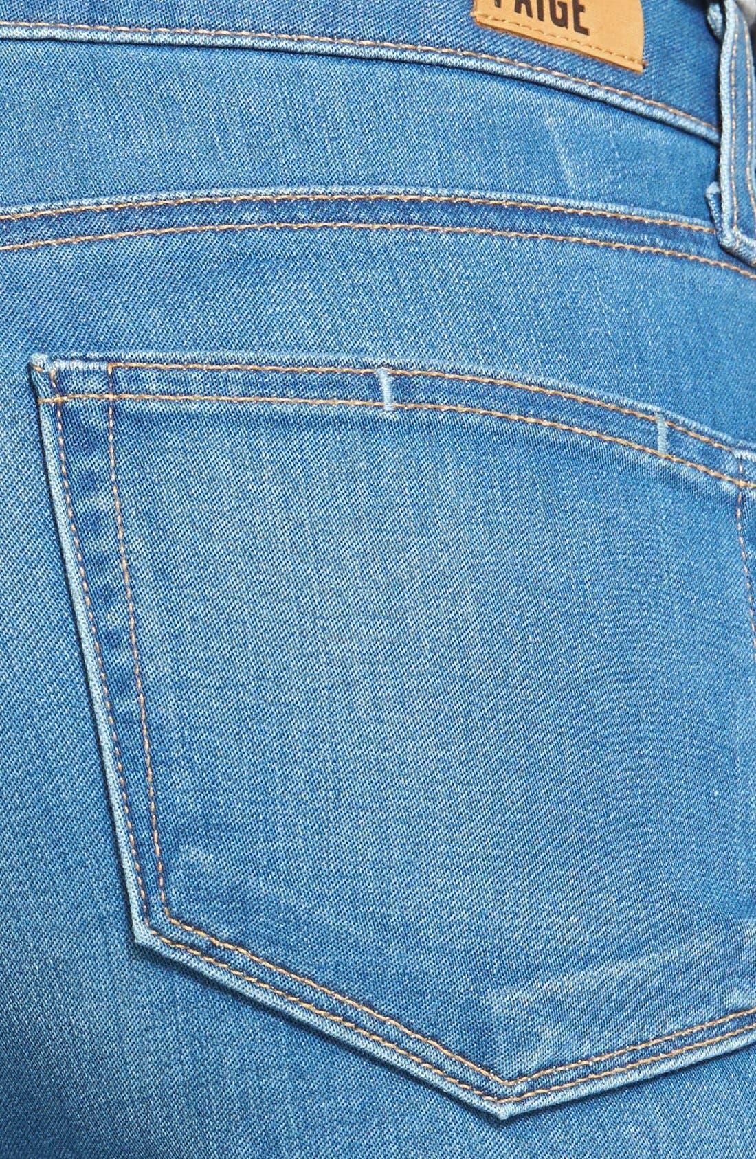 Alternate Image 3  - Paige Denim 'Hoxton' Skinny Ankle Jeans (Halstead Blue)
