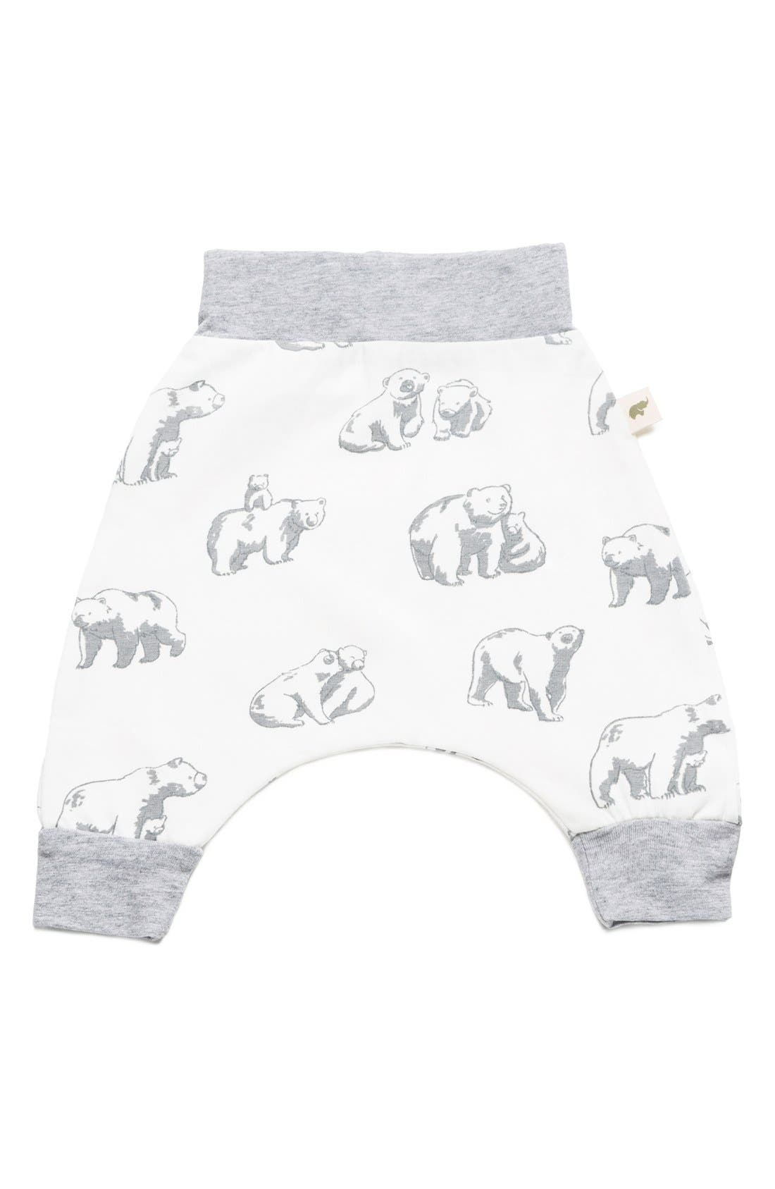 Alternate Image 1 Selected - Monica + Andy Print Jogger Pants (Baby)