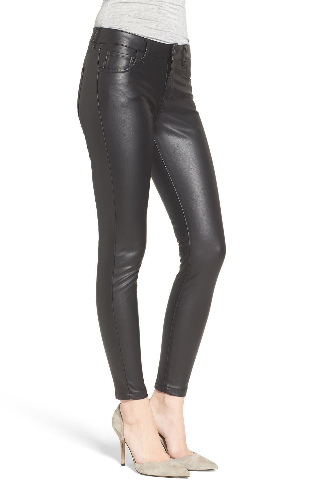 Alternate Image 3  - KUT from the Kloth Brigitte Faux Leather Pants