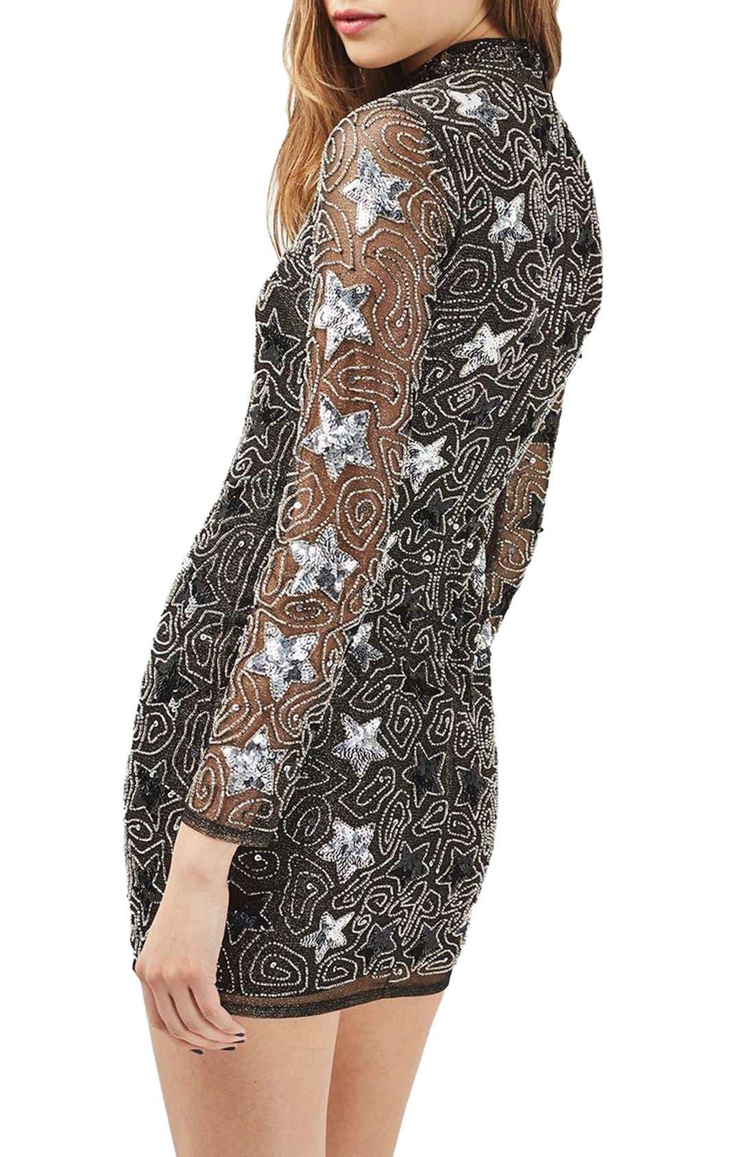 Alternate Image 4  - Topshop Star Embellished Minidress