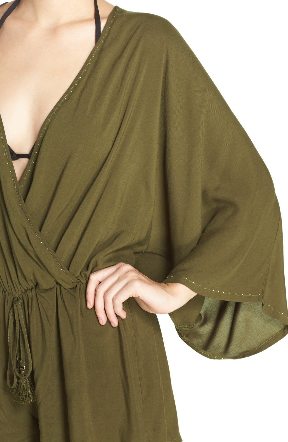 Alternate Image 4  - Vince Camuto Cover-Up Romper