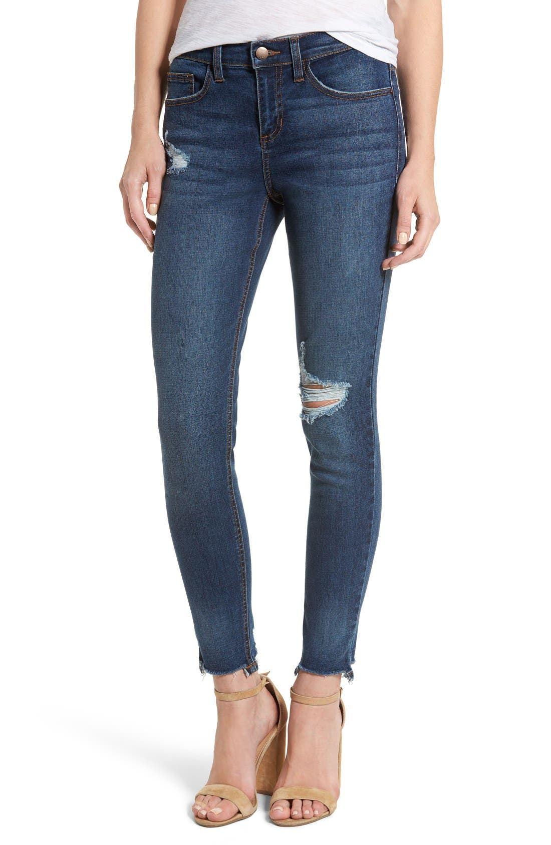 Alternate Image 1 Selected - SP Black Decon Skinny Jeans