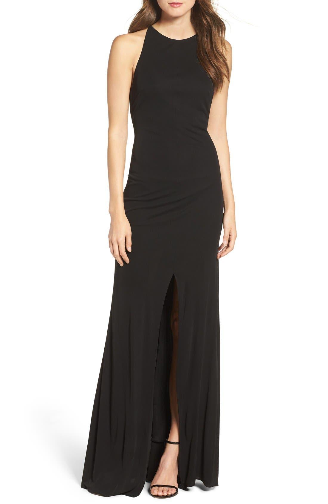Alternate Image 1 Selected - Maria Bianca Nero Victoria Sleeveless Gown