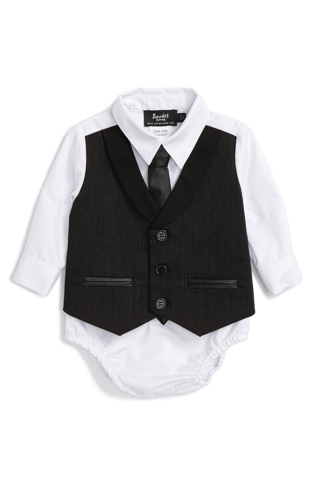 Bardot Junior Dress Shirt Bodysuit Baby Boys