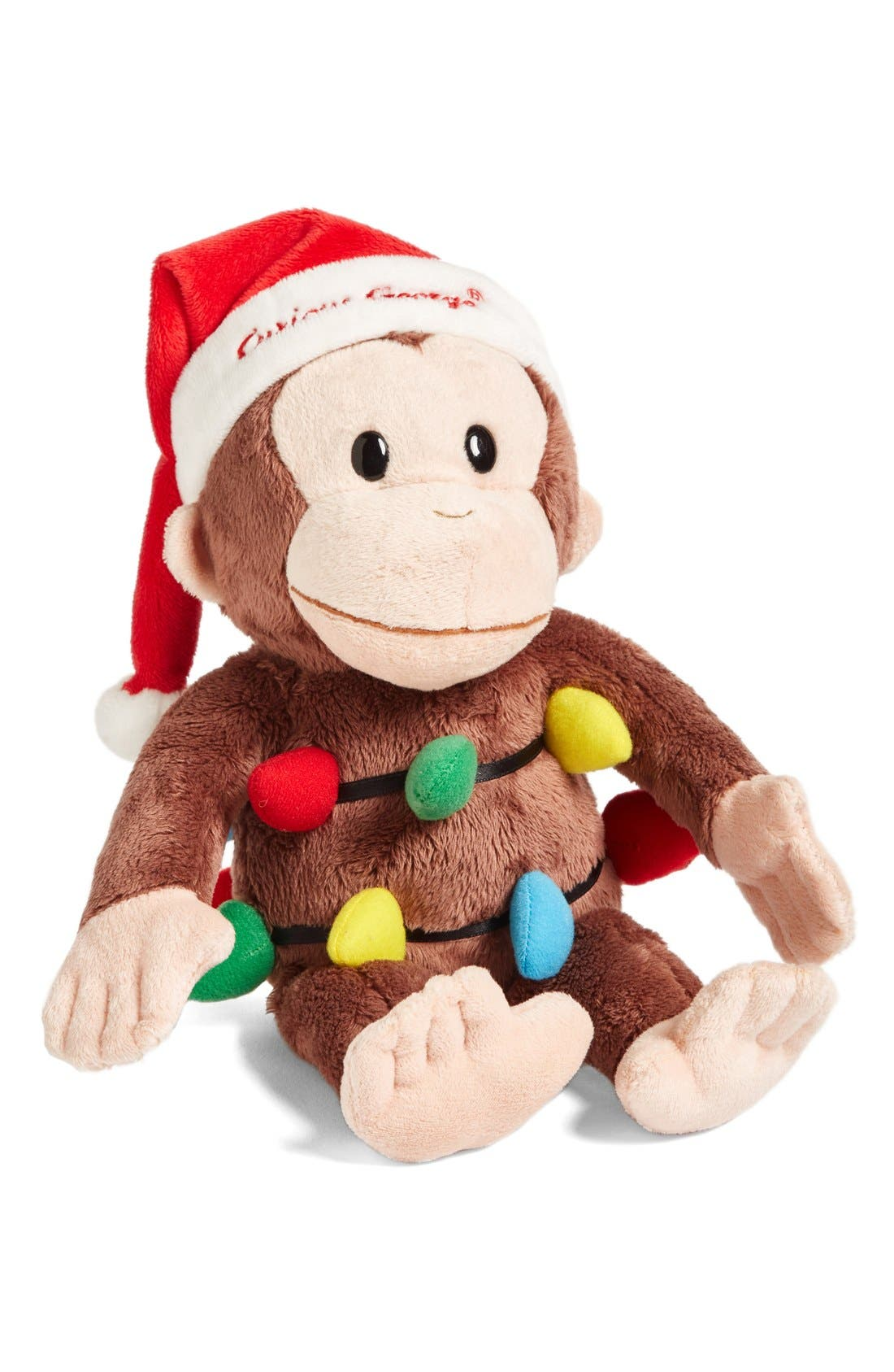 Alternate Image 1 Selected - Gund Curious George Holiday Stuffed Animal