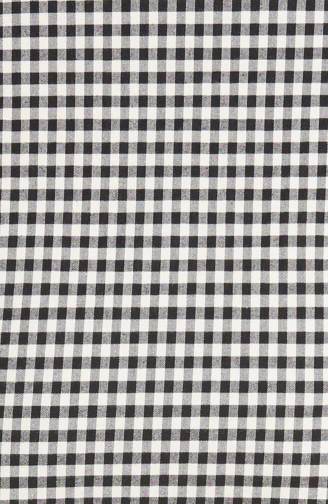 Alternate Image 5  - Veronica Beard Picnic Check Bow Miniskirt