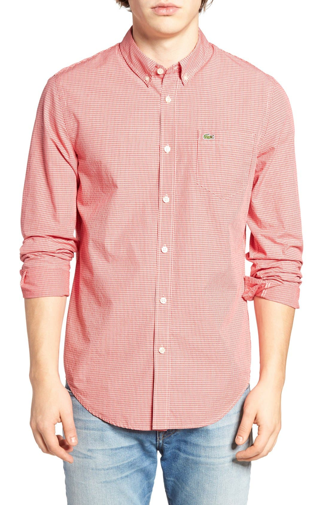 Lacoste Check Shirt