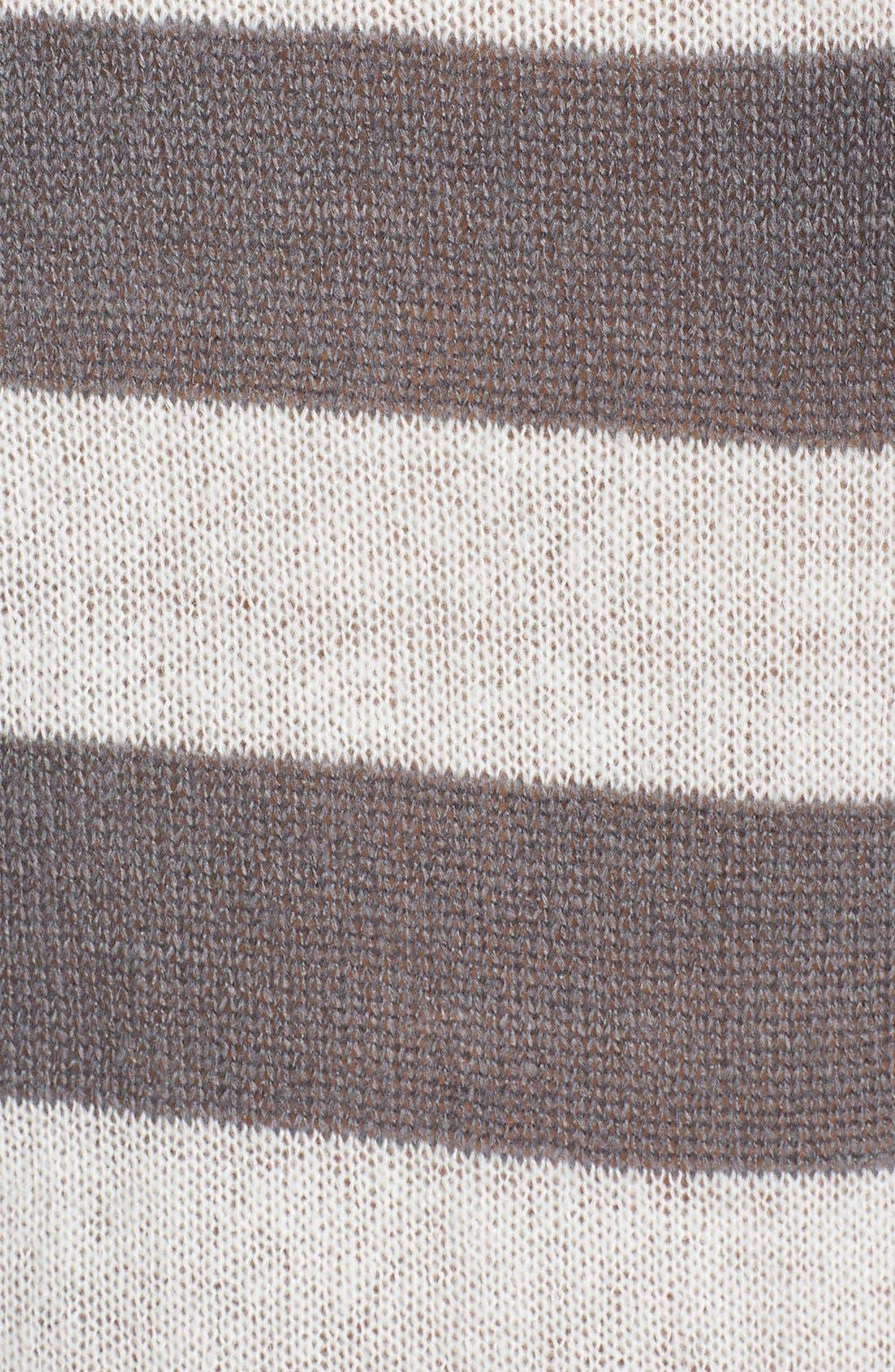 Alternate Image 3  - PJ Salvage 'Sweet Hearts' Striped Sweater