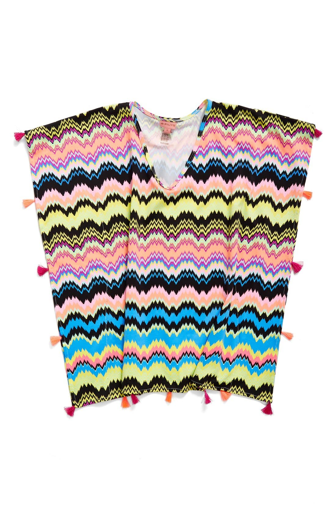 PilyQ Print Tassel Tunic (Little Girls & Big Girls)