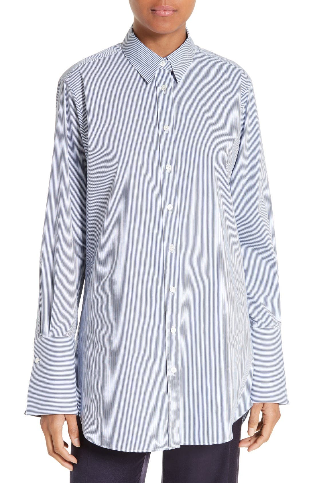JOSEPH Emile Pinstripe Shirt