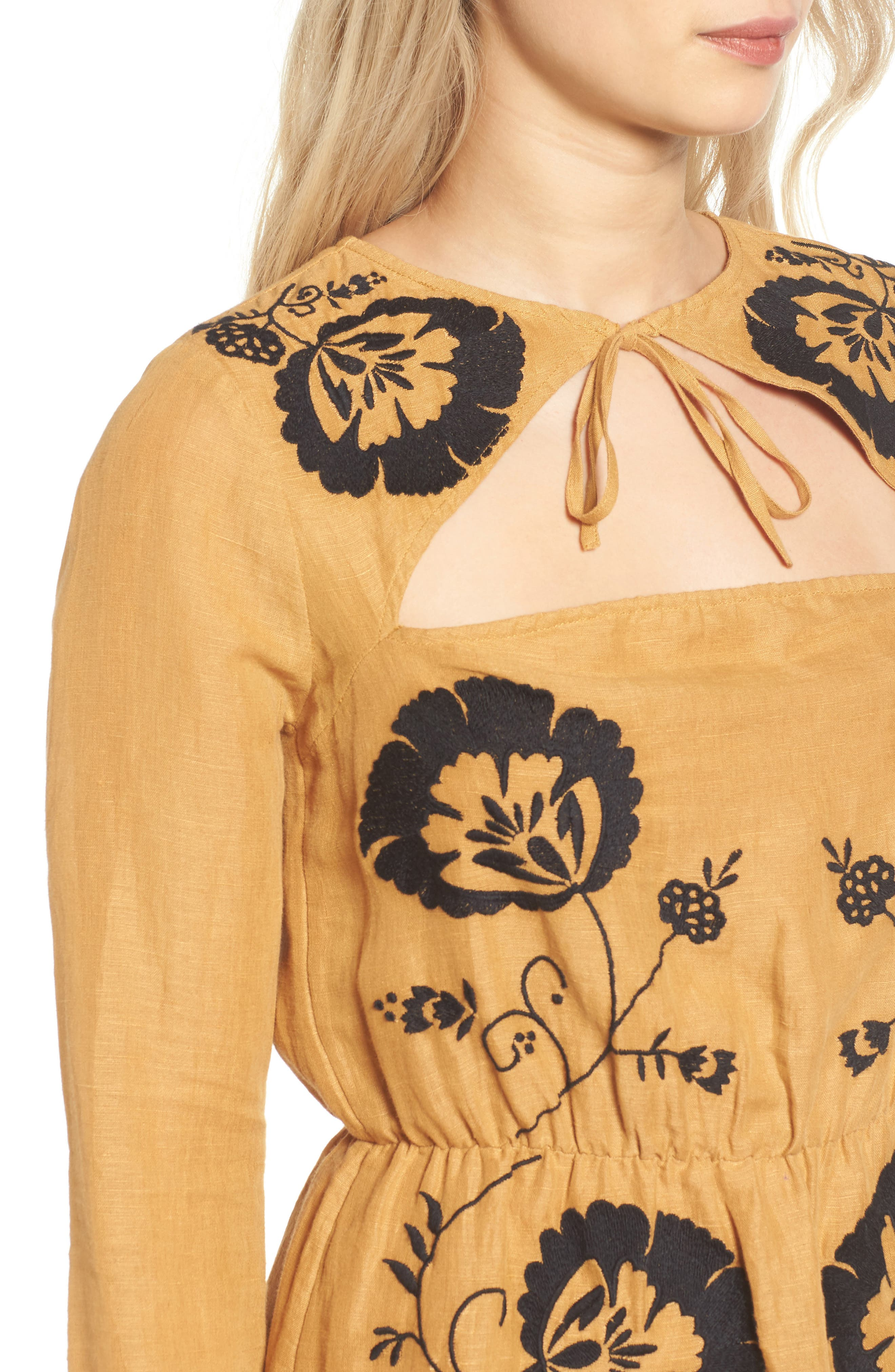 Alternate Image 5  - Tularosa Keeylan Embroidered Dress
