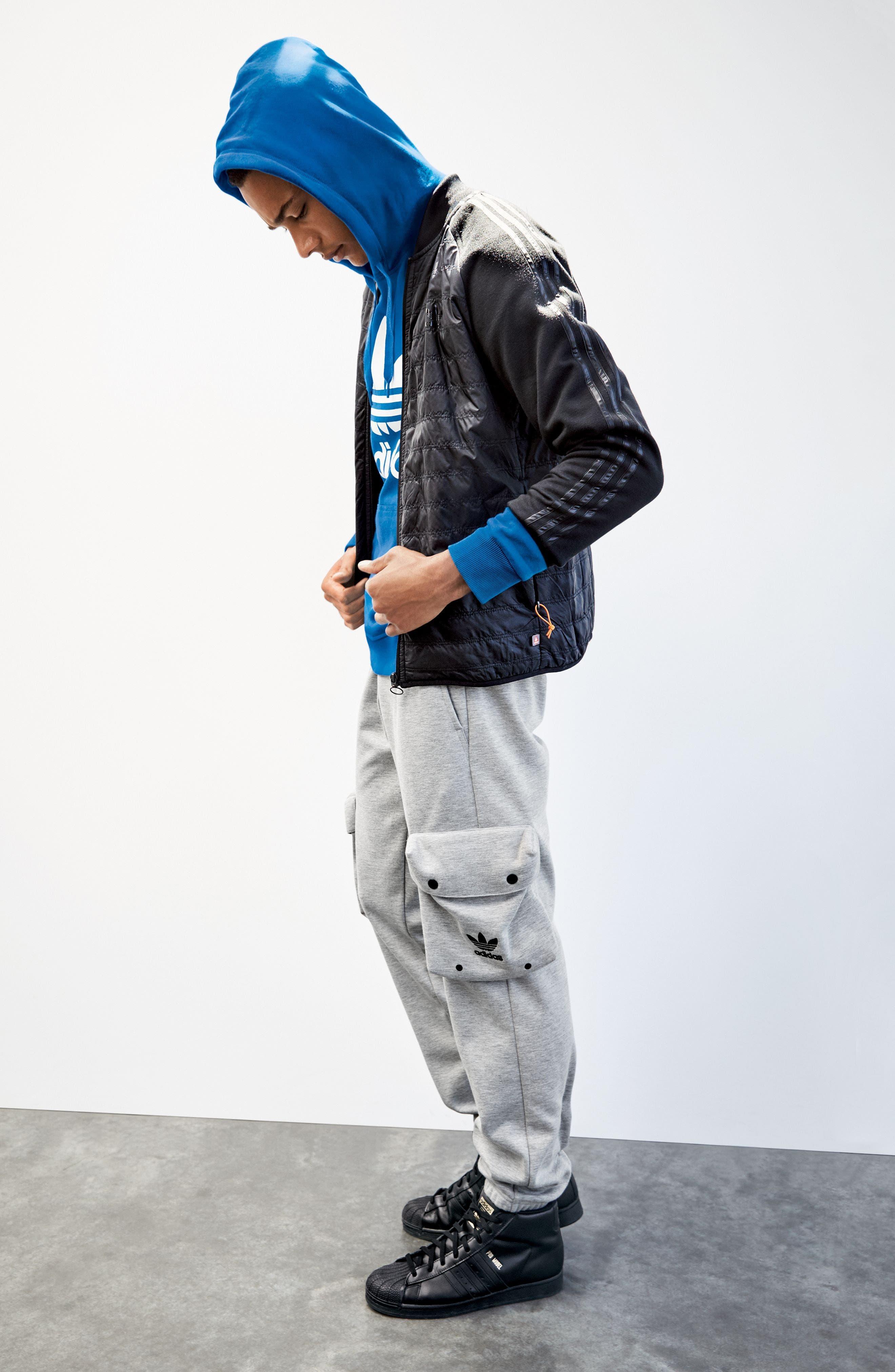 Alternate Image 6  - adidas Originals 'Trefoil' Graphic Hoodie