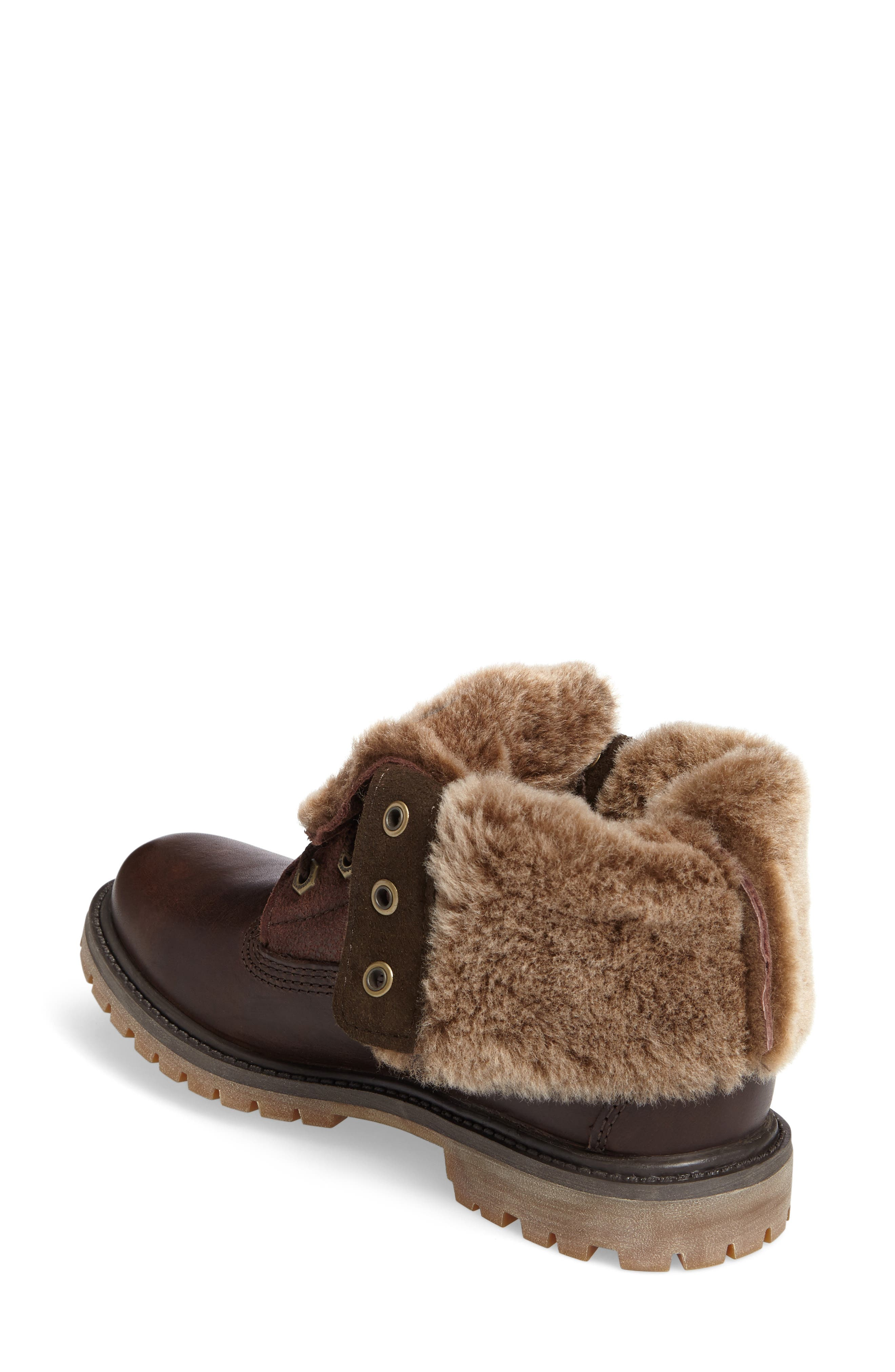 Alternate Image 2  - Timberland Authentic Water Resistant Genuine Shearling Boot (Women)