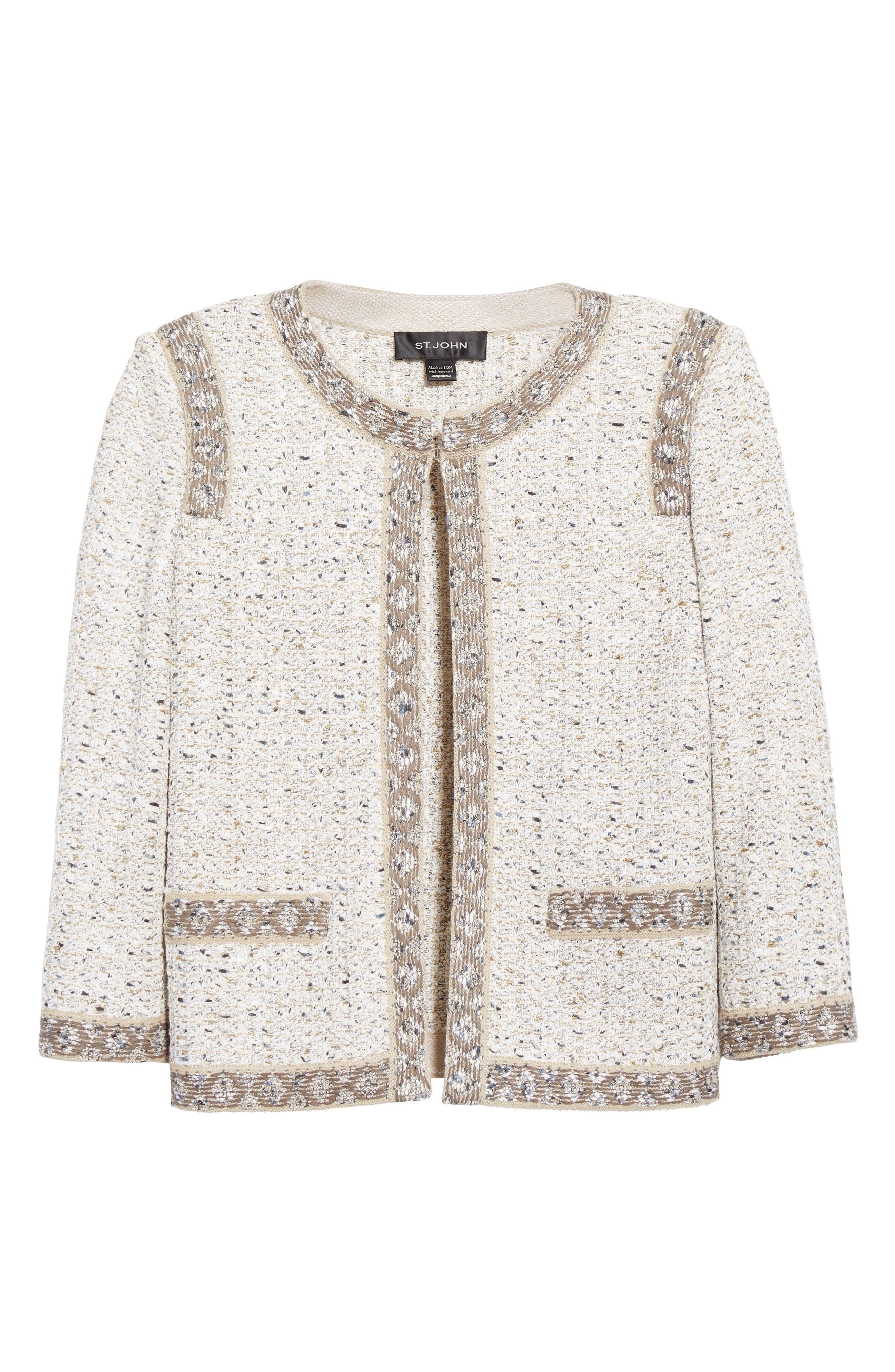 Alternate Image 4  - St. John Collection Kira Tweed Jacket