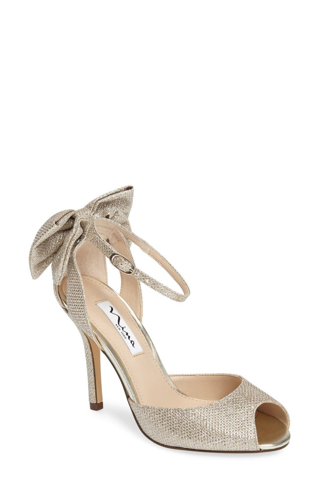 Nina Martina Ankle Strap Pump (Women)