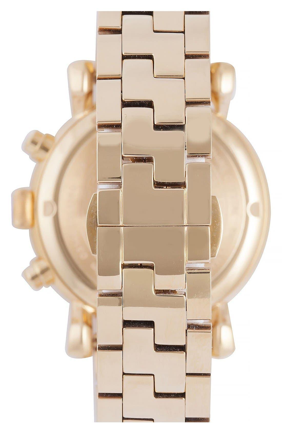 Alternate Image 2  - Versace 'Day Glam' Chronograph Bracelet Watch, 38mm