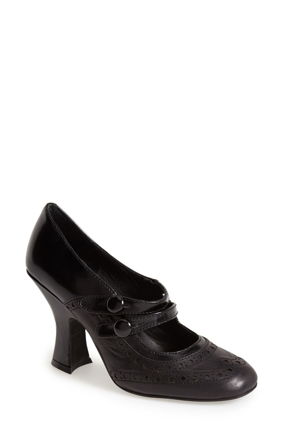 Alternate Image 1 Selected - Jeffrey Campbell 'Eclaire' Leather Pump (Women)