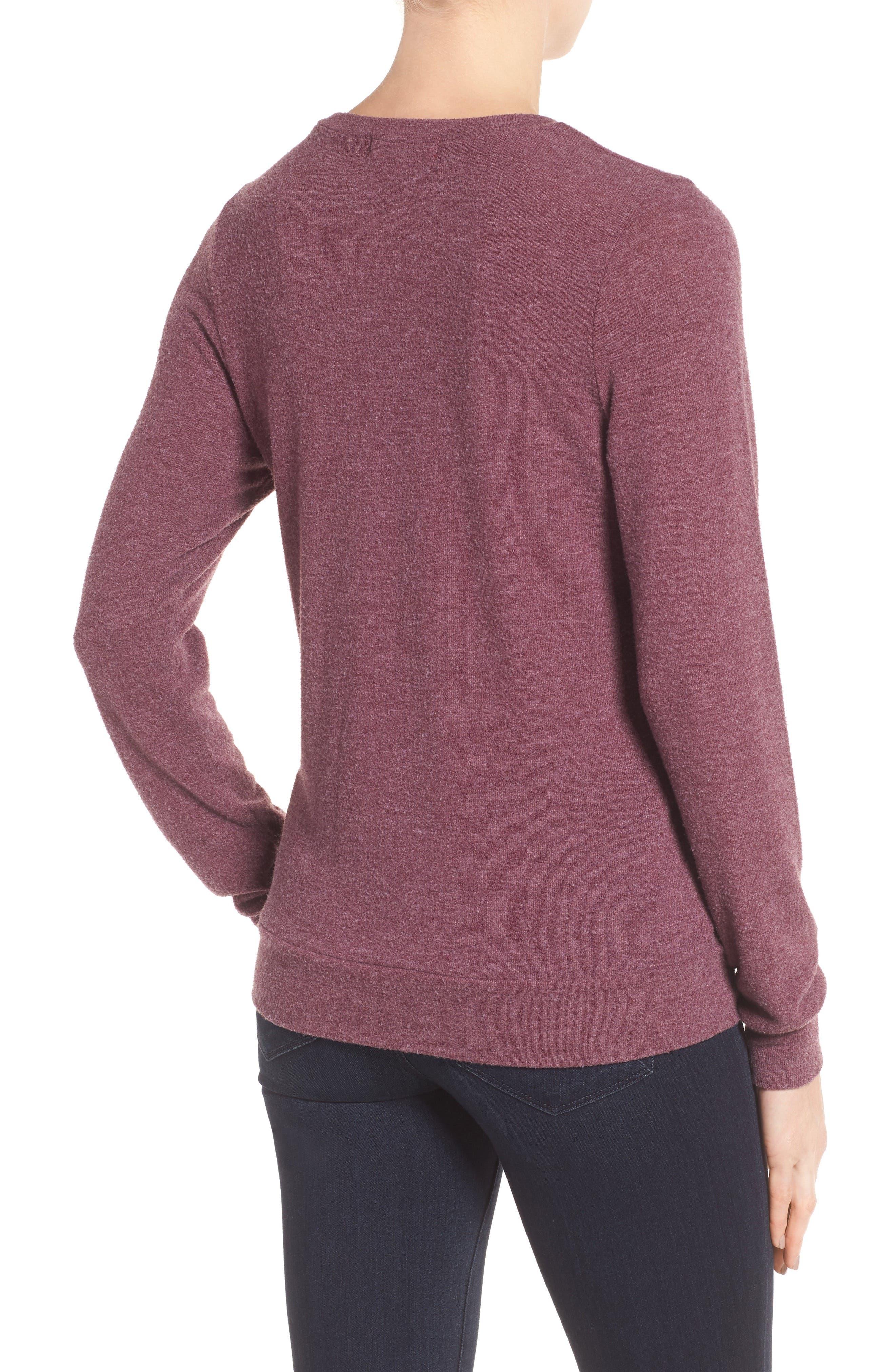 Alternate Image 2  - Signorelli Graphic Sweatshirt