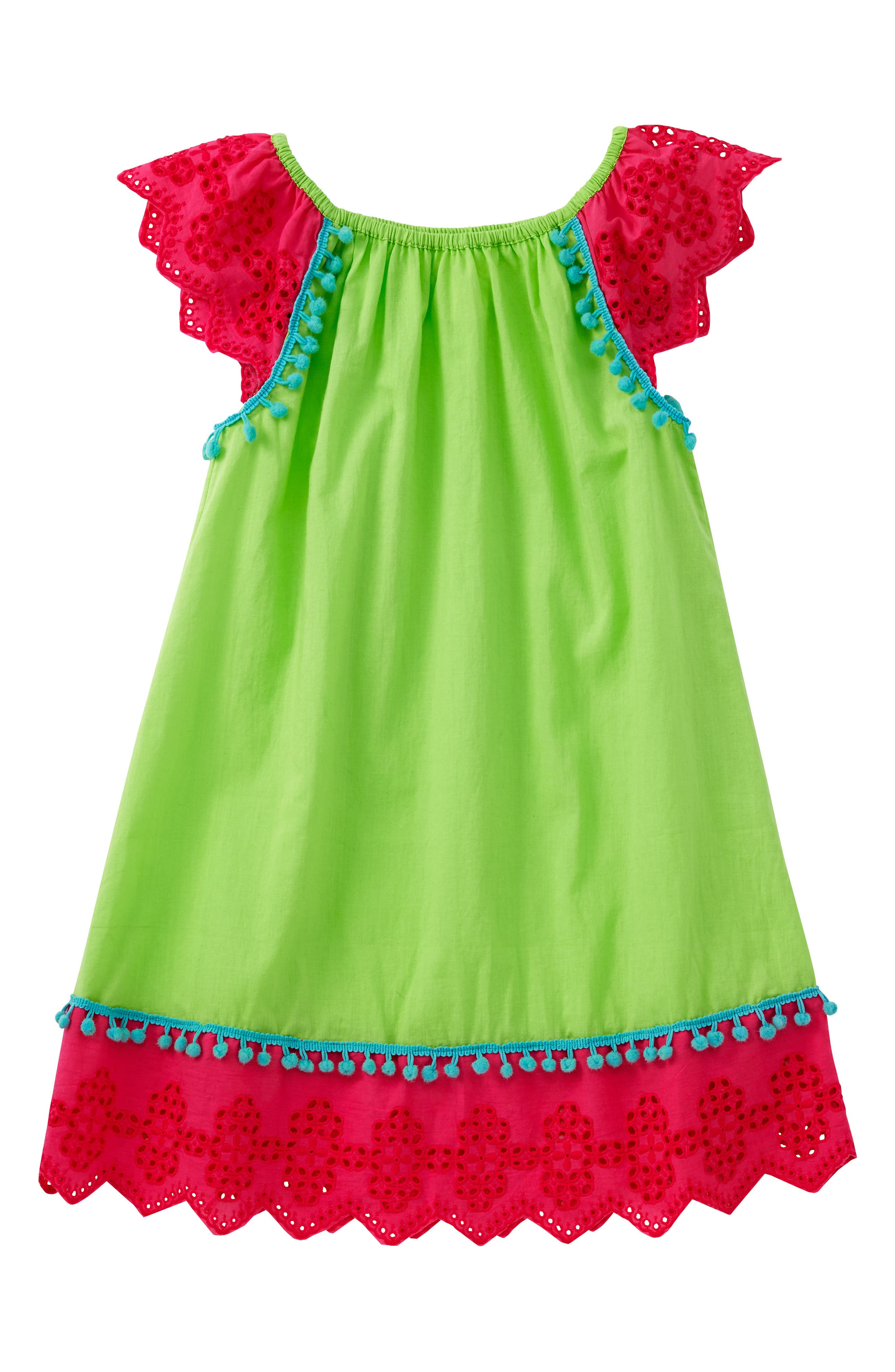 MASALABABY Flutter Eyelet Dress