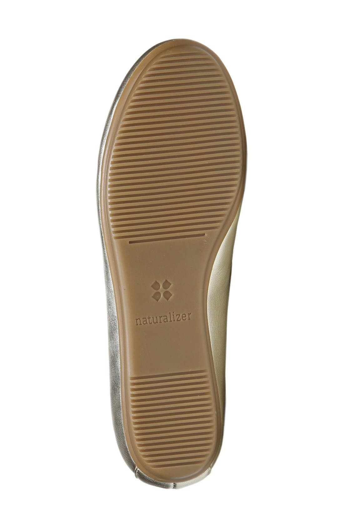 Alternate Image 4  - Naturalizer Brittany Ballet Flat (Women)