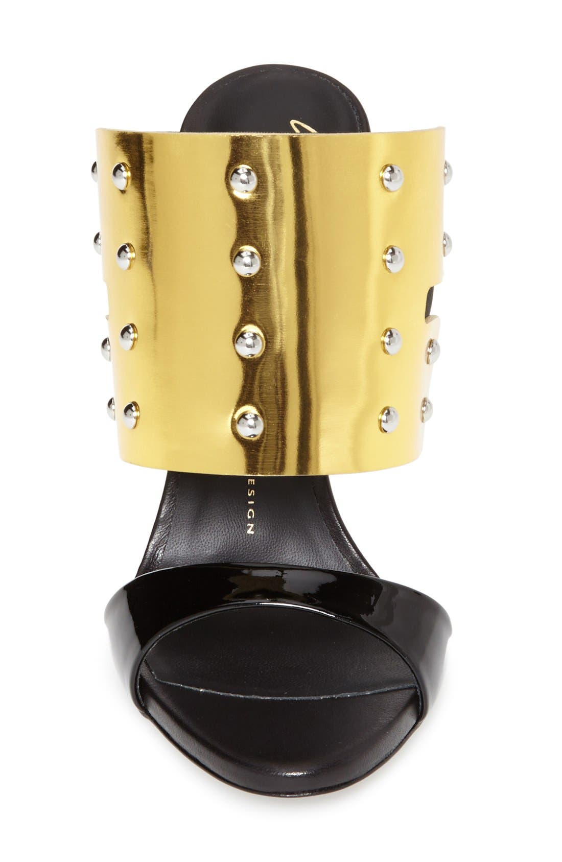 Alternate Image 3  - Giuseppe Zanotti 'Coline' Metallic Cuff Sandal (Women)