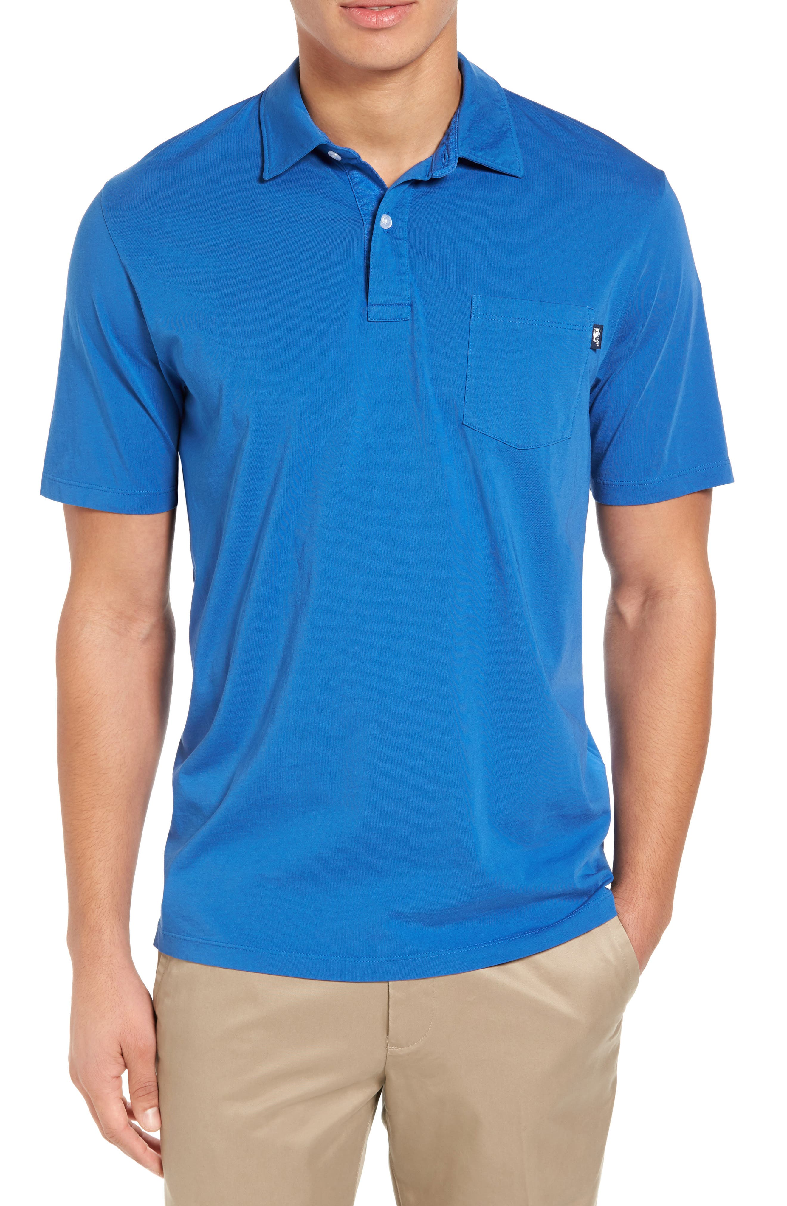 Vineyard Vines Garment Dyed Jersey Polo