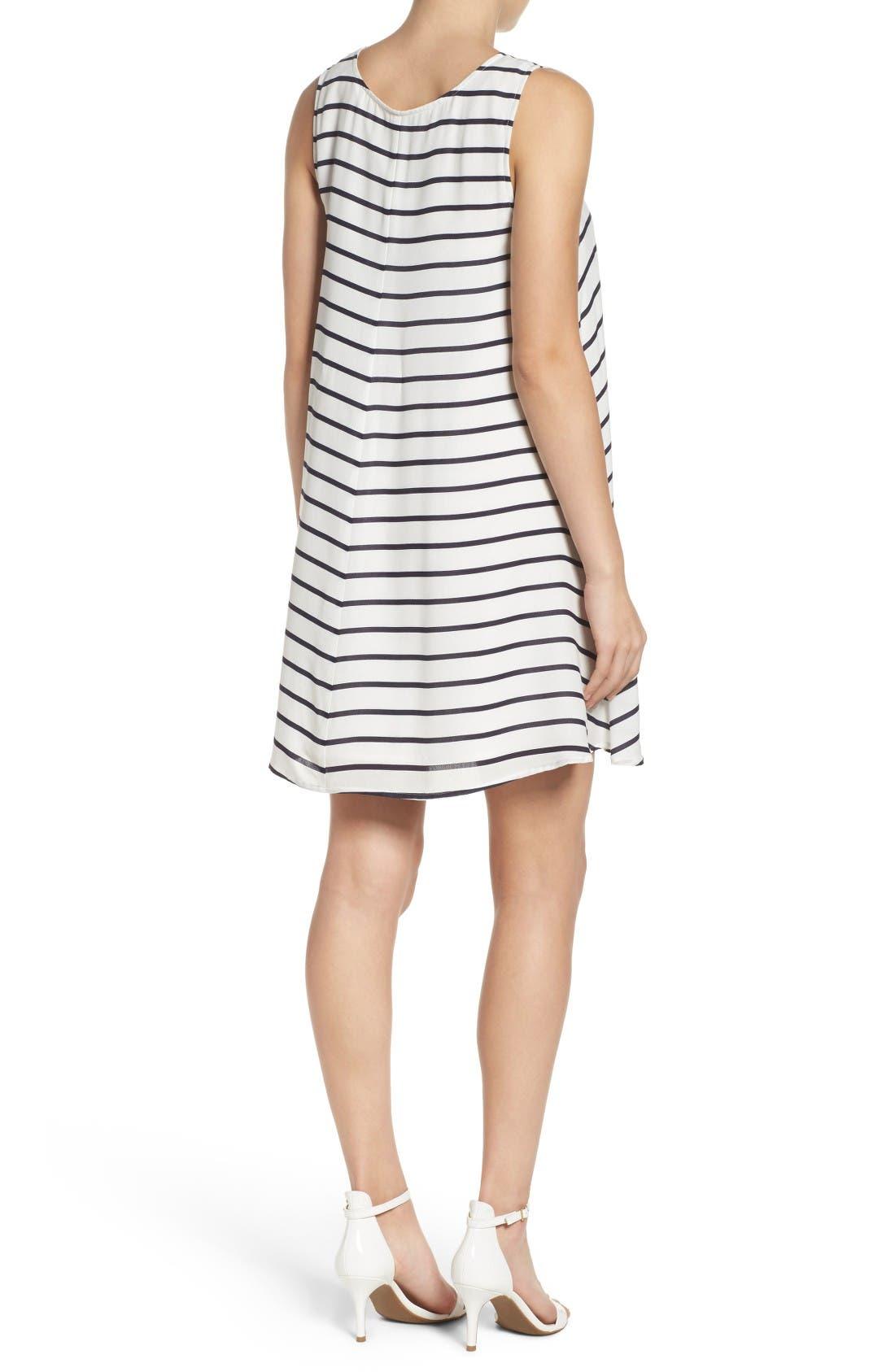 Alternate Image 2  - BB Dakota Shaye Trapeze Dress