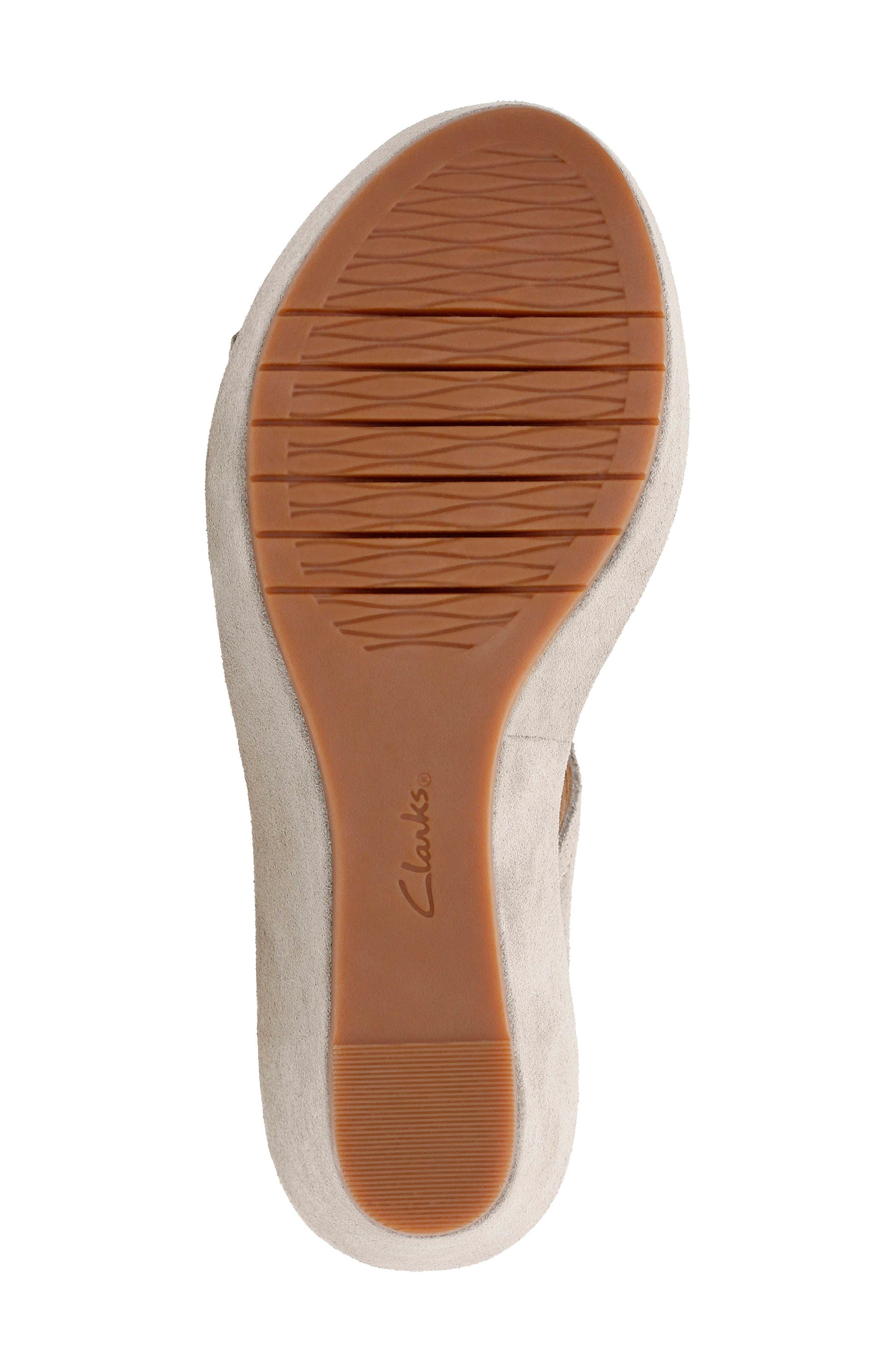 Alternate Image 6  - Clarks® Aisley Orchid Wedge Sandal (Women)