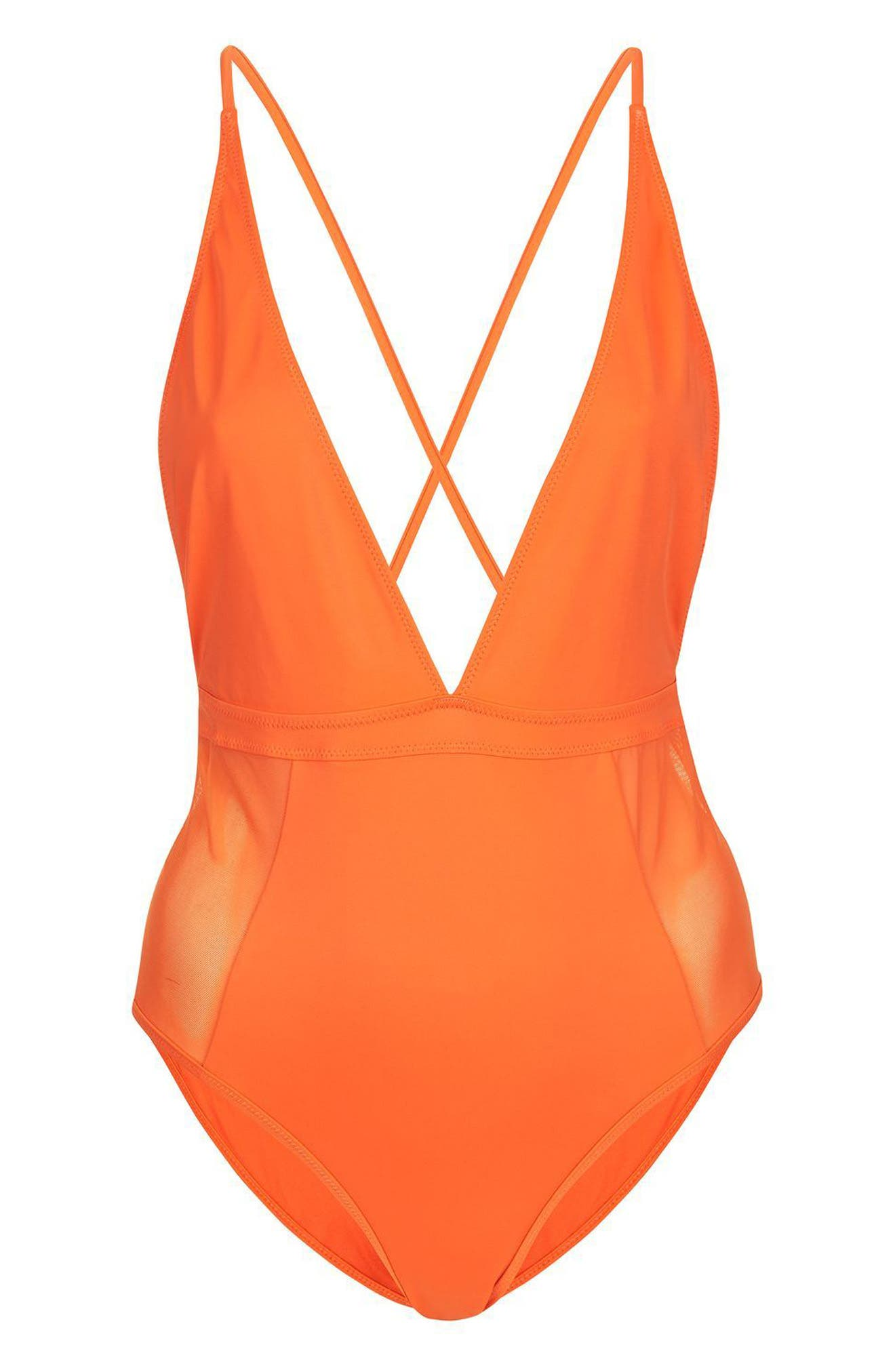 Main Image - Topshop Cindy One-Piece Swimsuit
