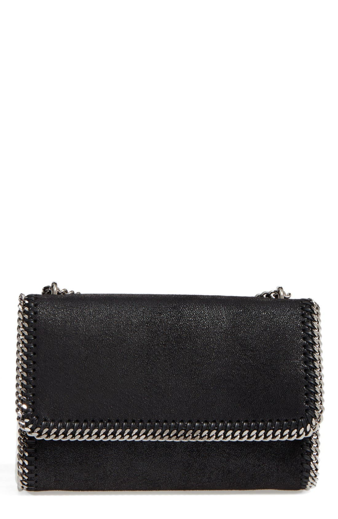 Stella McCartney Shaggy Deer Flap Shoulder Bag