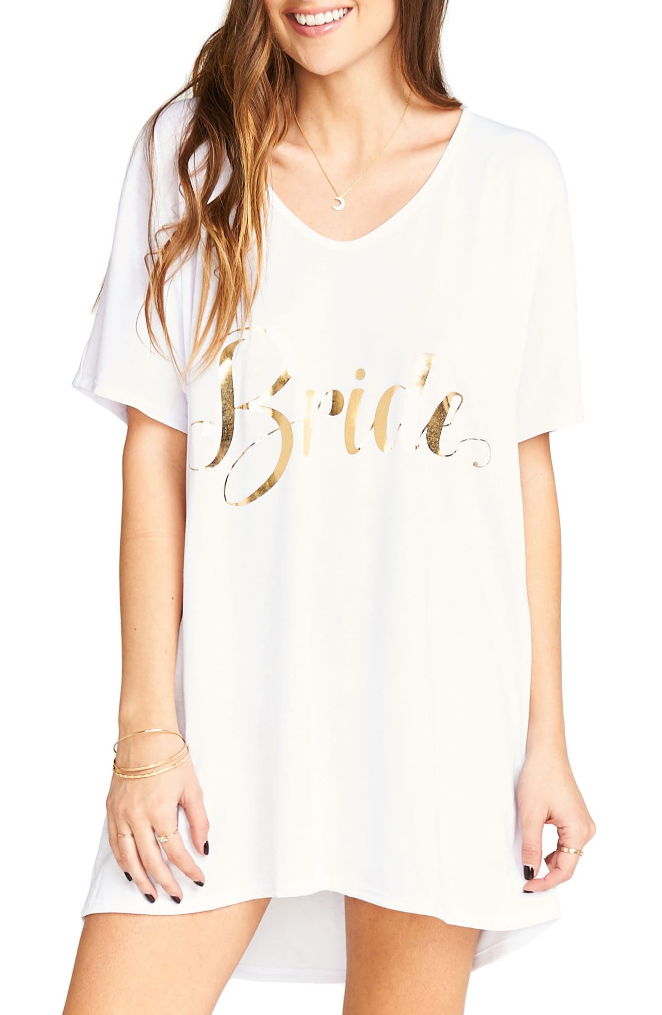 Show Me Your Mumu Getting Ready Bride Tunic