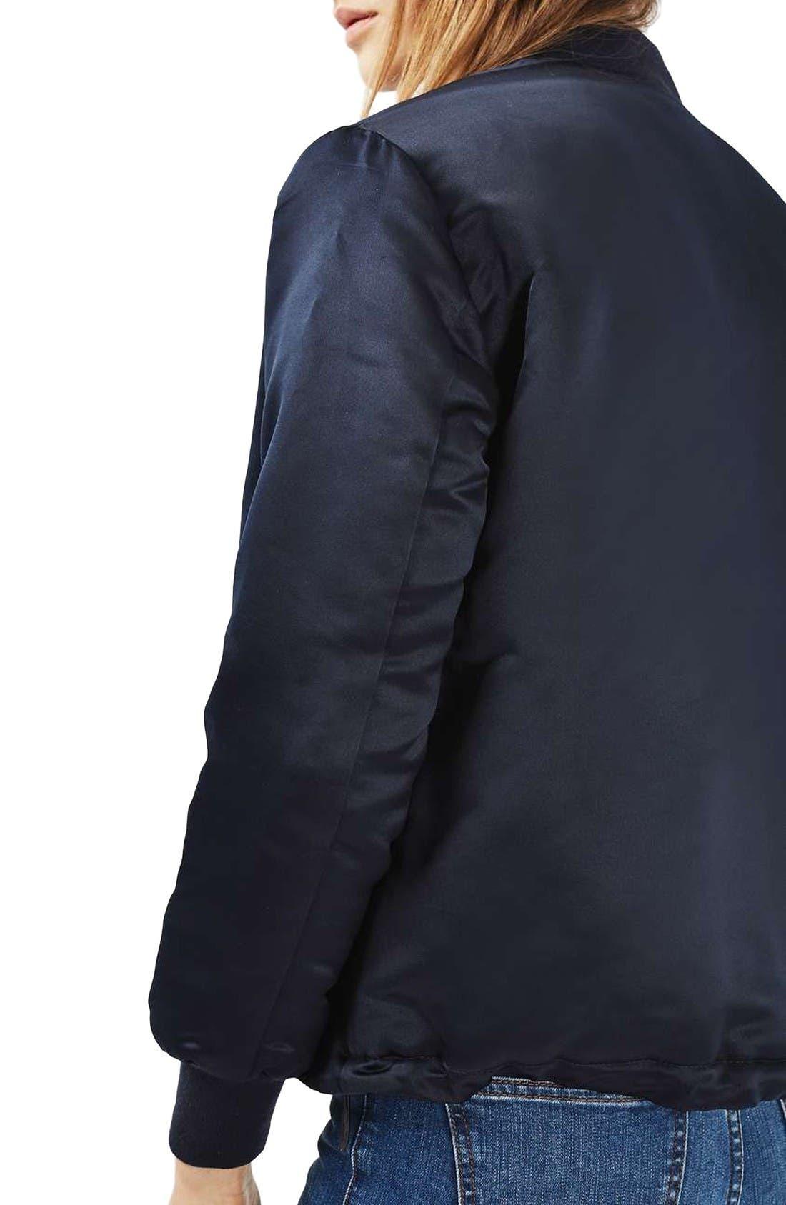 Alternate Image 3  - Topshop Sven Bomber Jacket