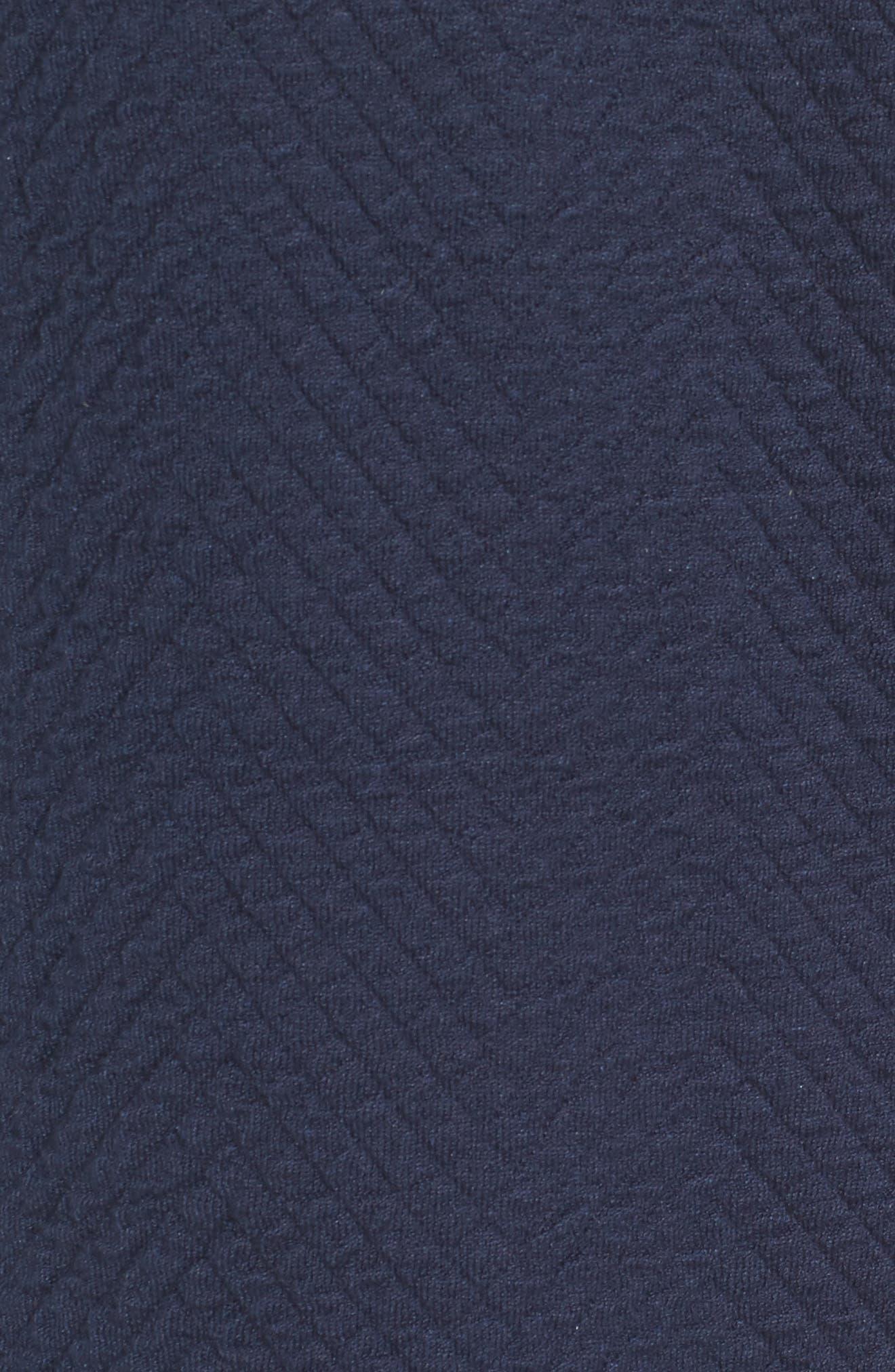 Alternate Image 5  - Eileen Fisher Silk Blend Jacquard Jacket (Regular & Petite)