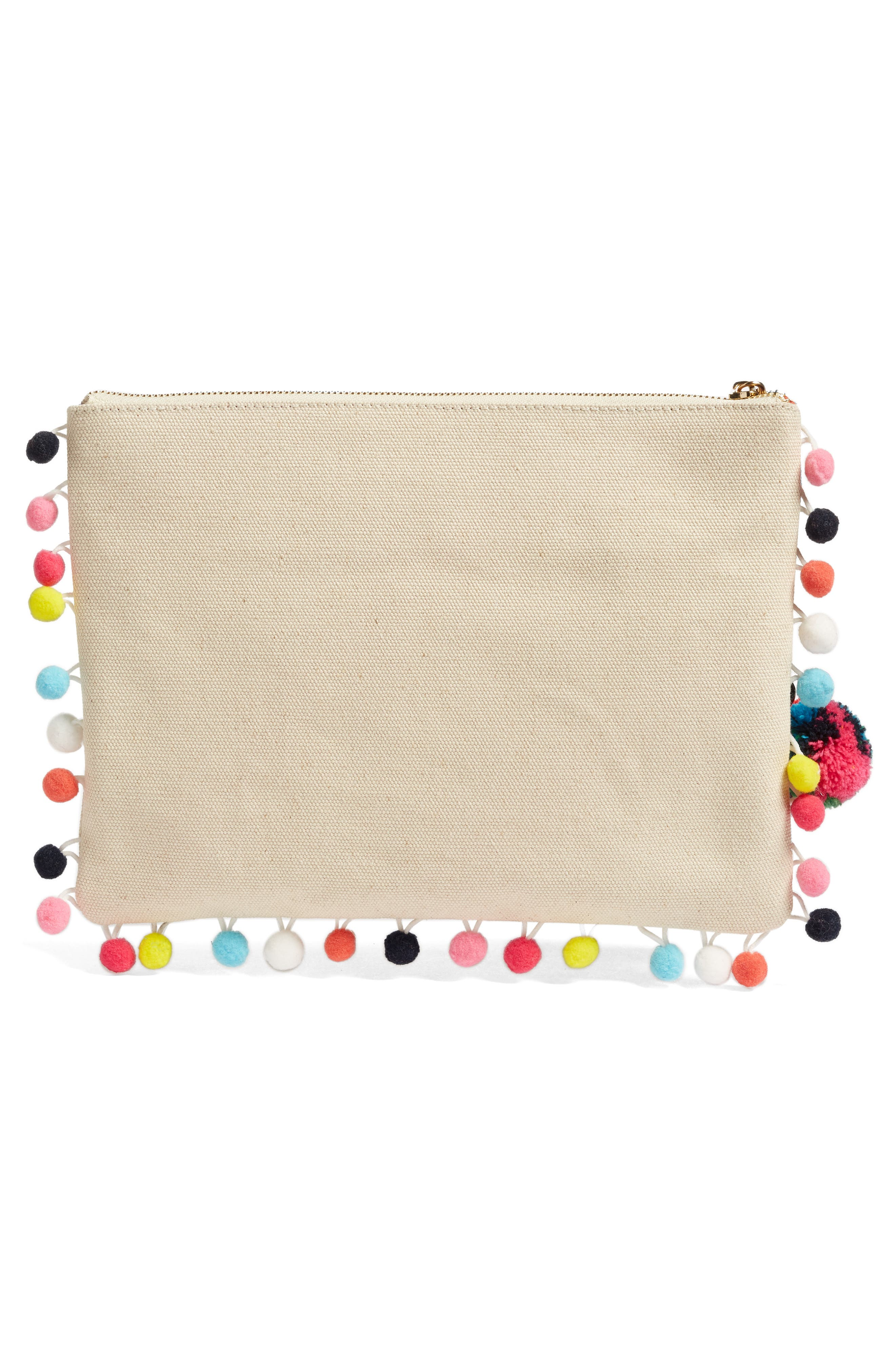 Alternate Image 3  - Steven by Steve Madden Embroidered Clutch