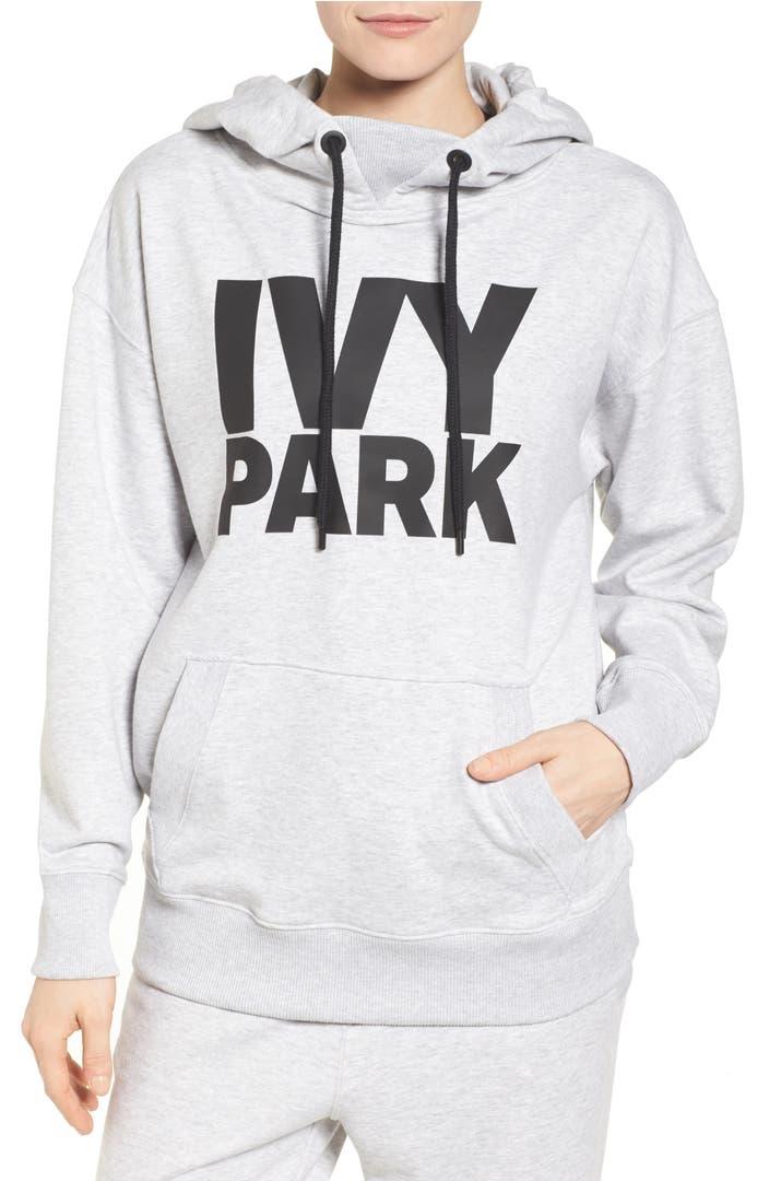 ivy park logo hoodie nordstrom. Black Bedroom Furniture Sets. Home Design Ideas