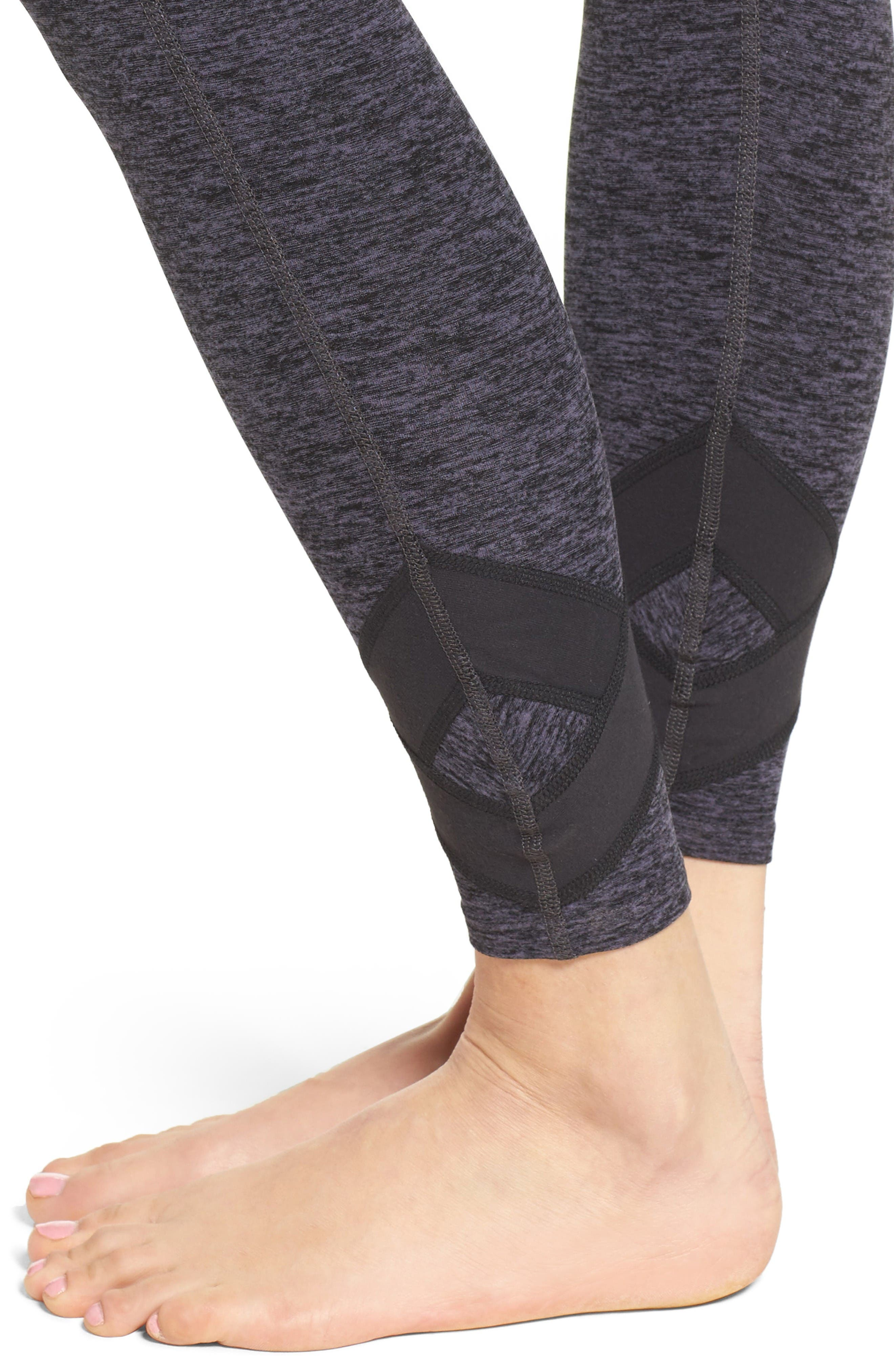 Alternate Image 4  - Beyond Yoga X Big Thing High Waist Leggings
