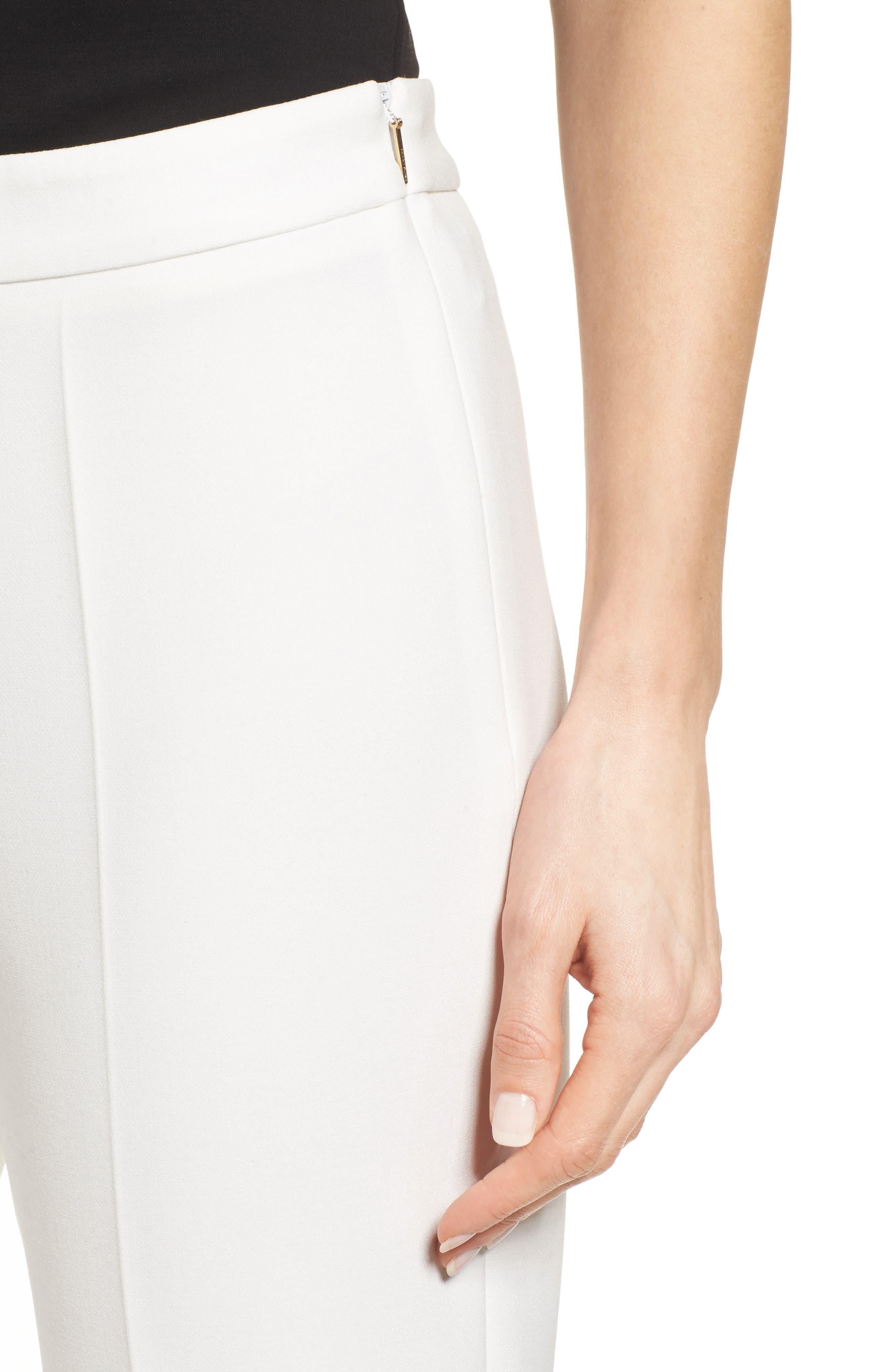 Alternate Image 4  - BOSS 'Tiluna' Slim Leg Ankle Trousers (Regular & Petite)