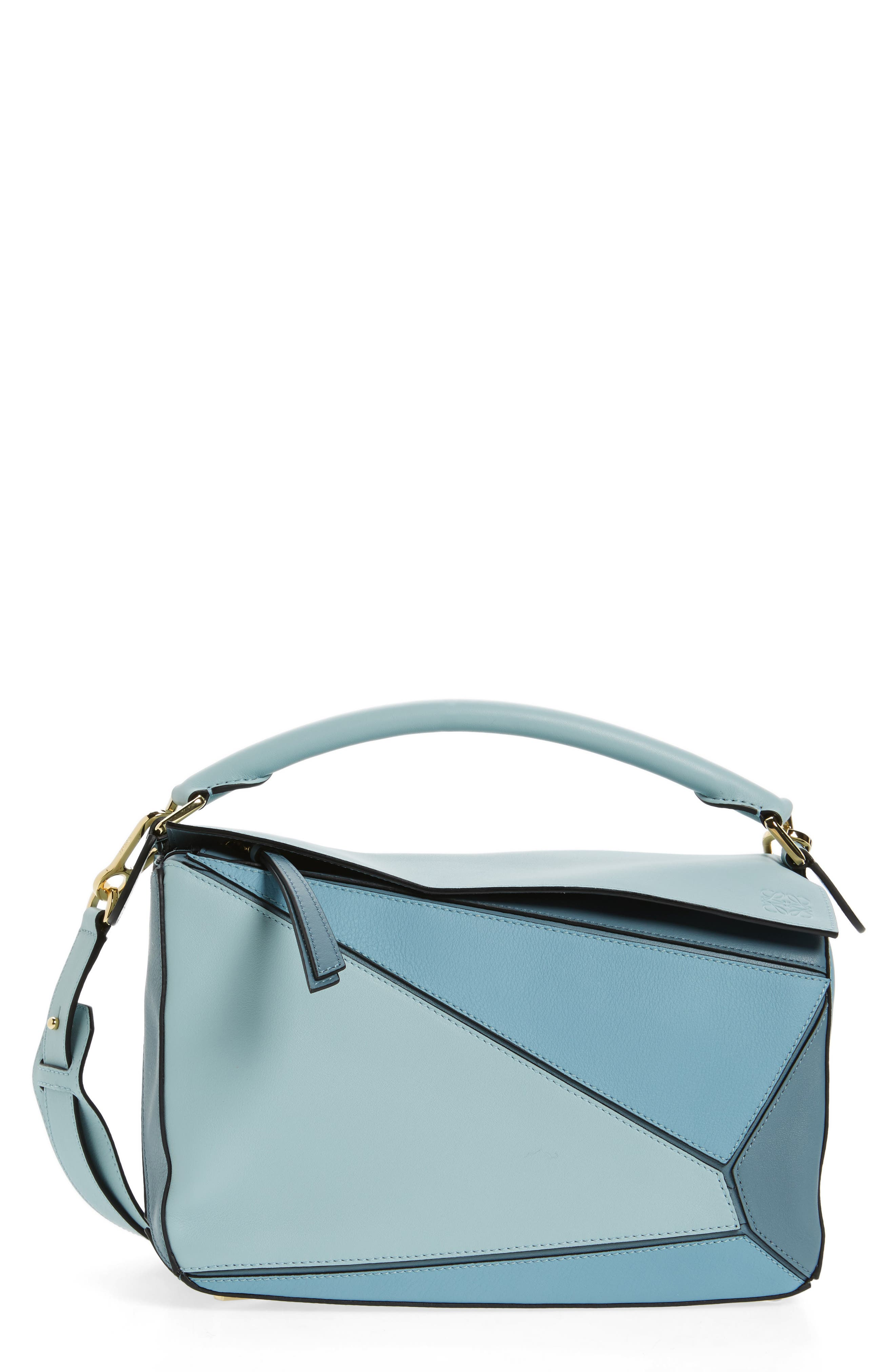 Loewe 'Puzzle' Colorblock Calfskin Leather Bag
